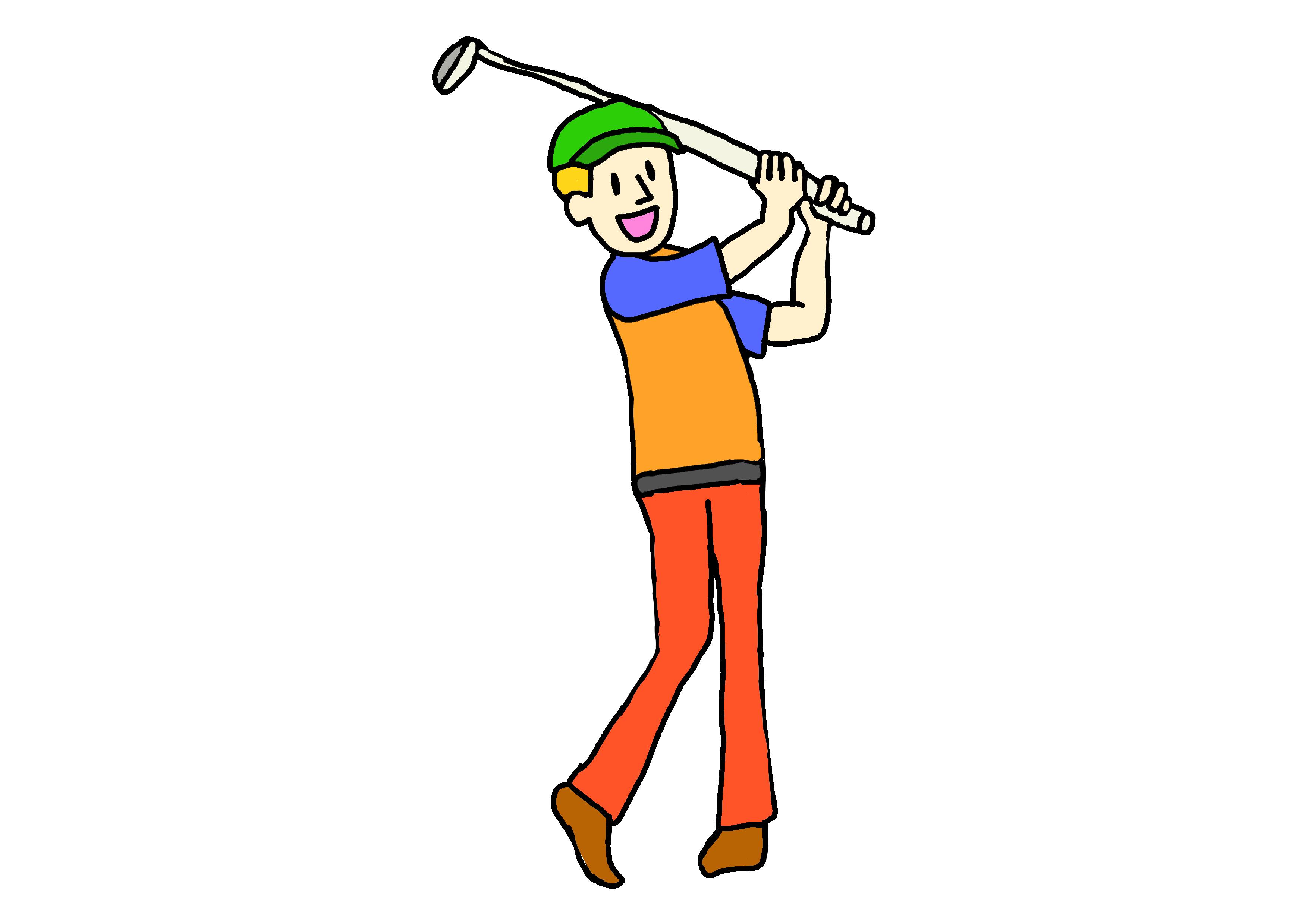 イラスト【ゴルフ】