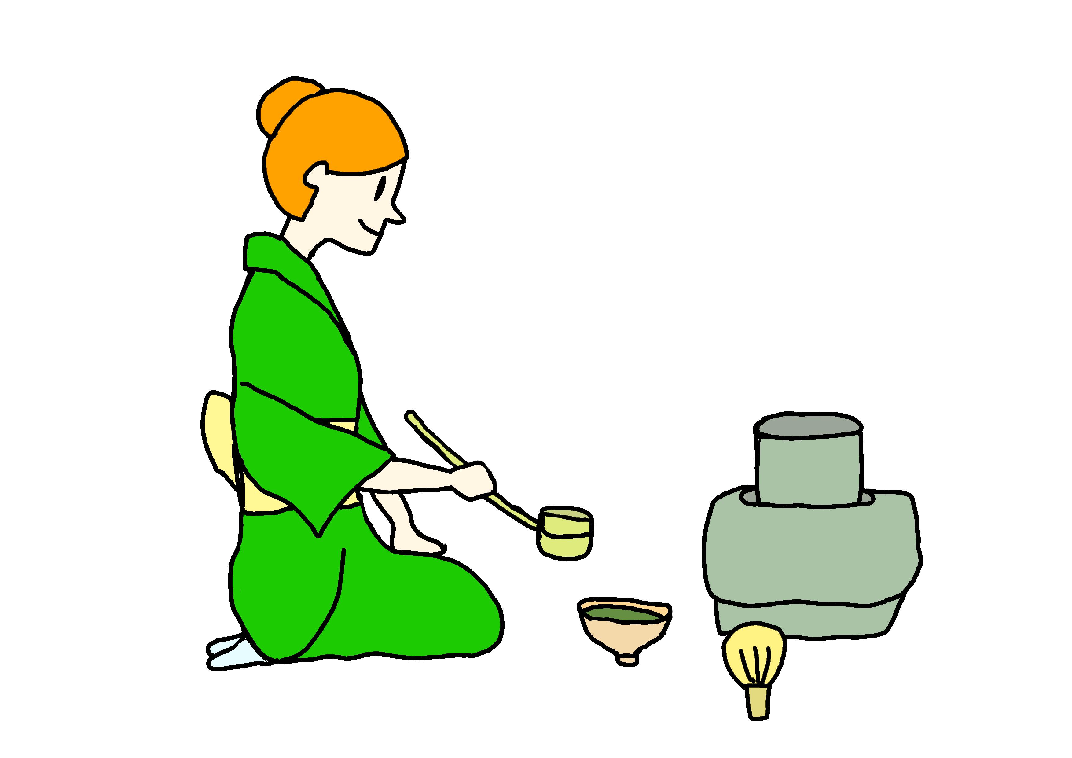 イラスト【お茶】