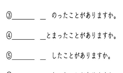 〜したことがありますか。みんなの日本語19課