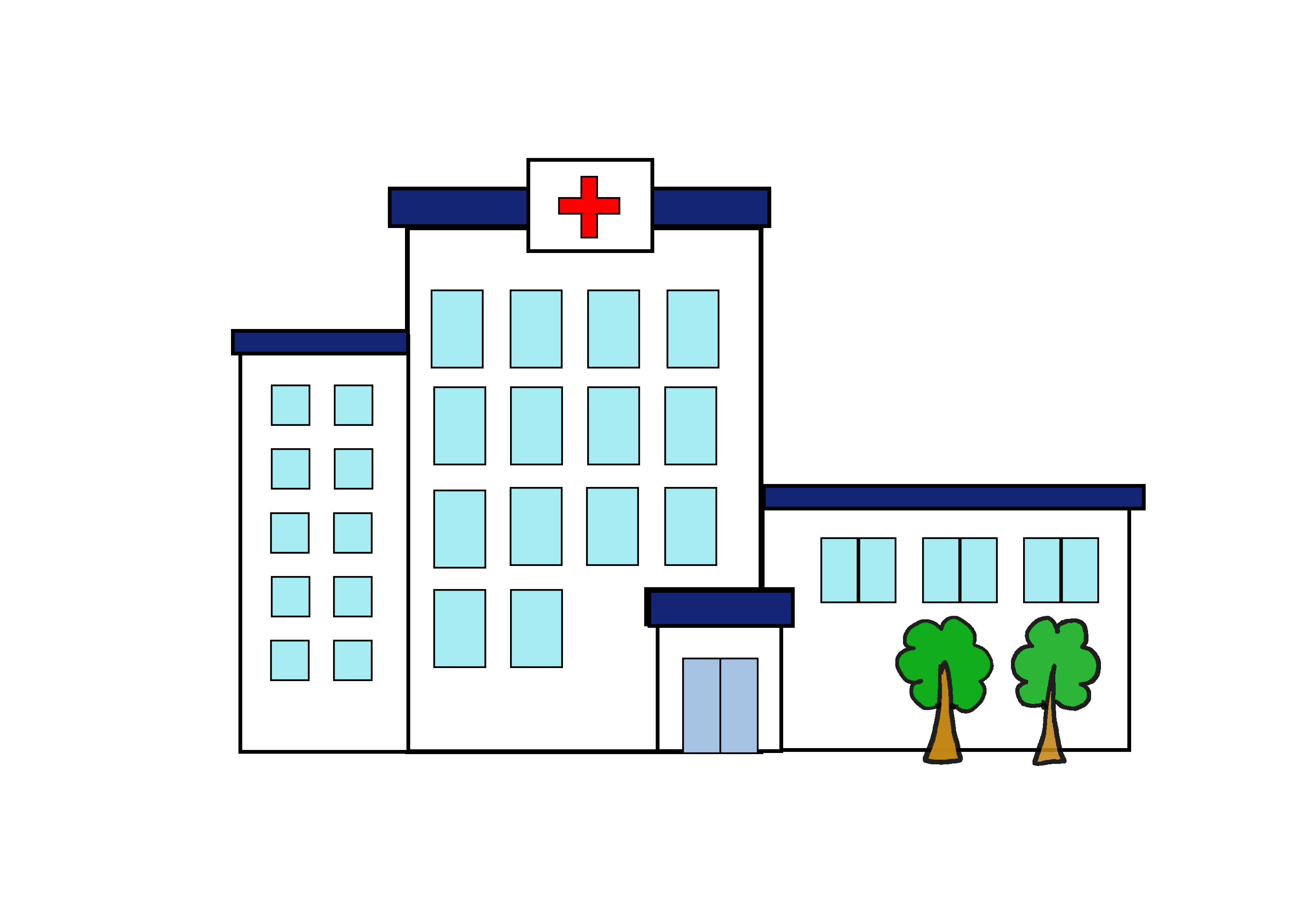 イラスト【病院】