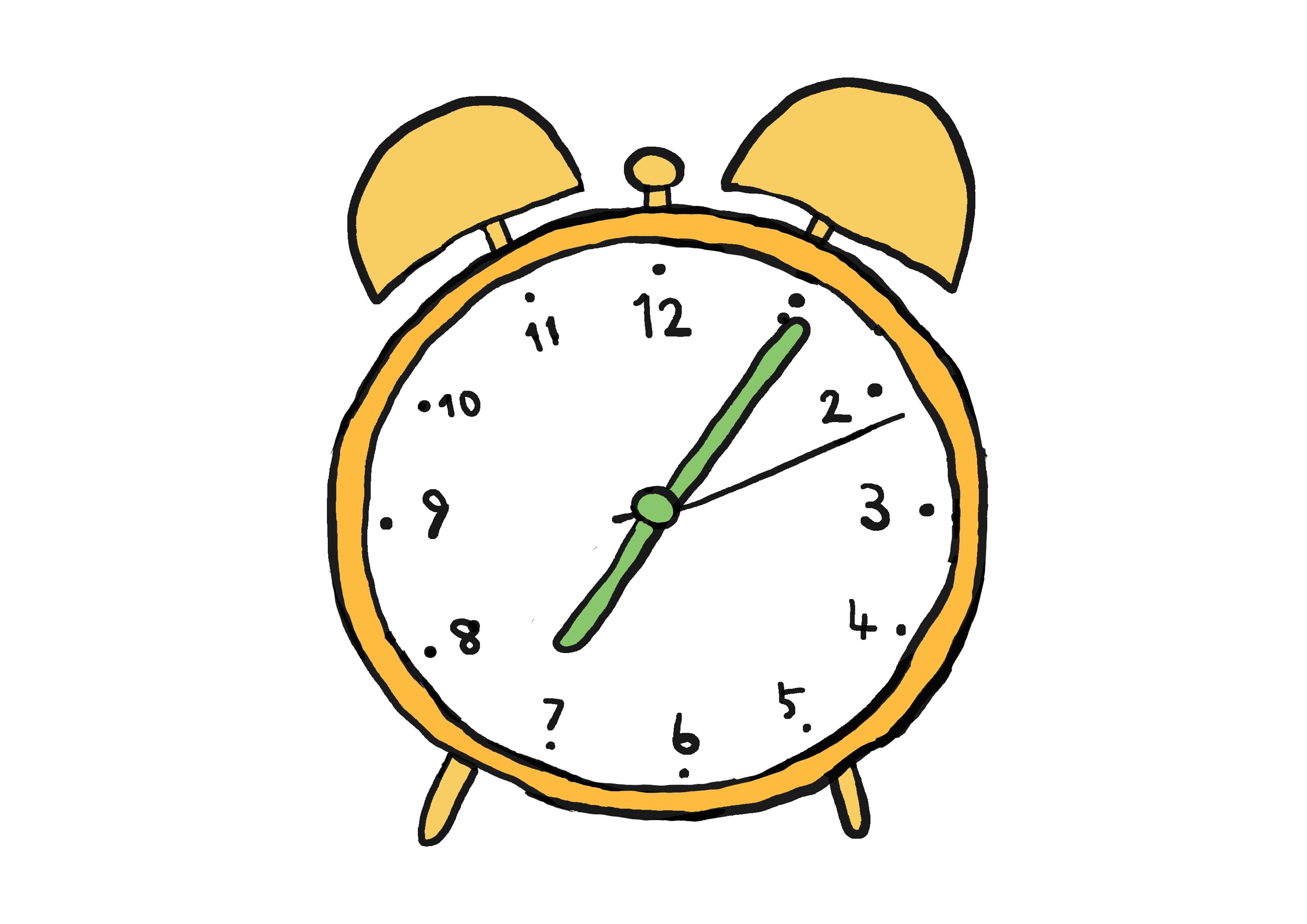 商用フリーイラスト【時計】