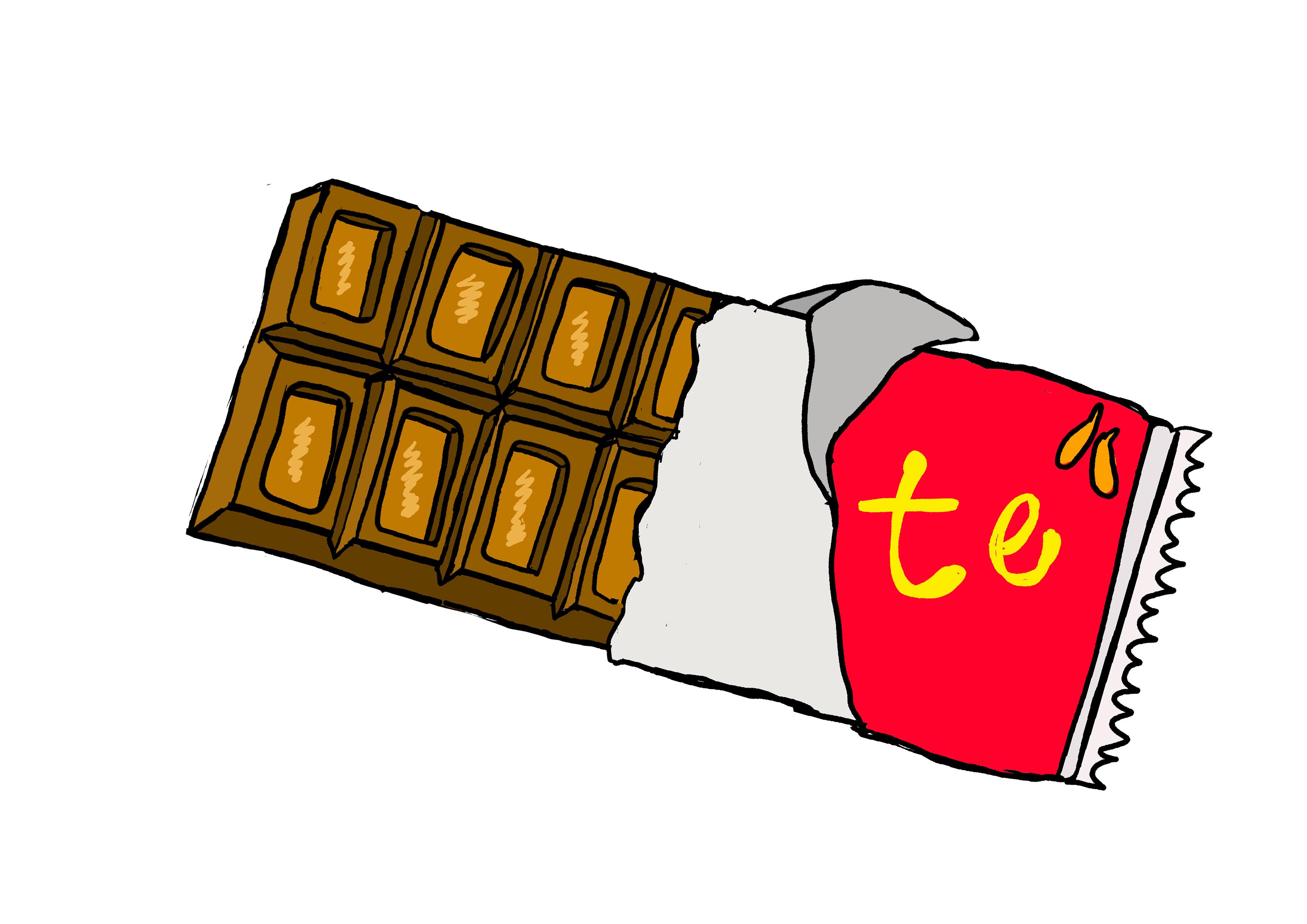 商用フリーイラスト【チョコレート】