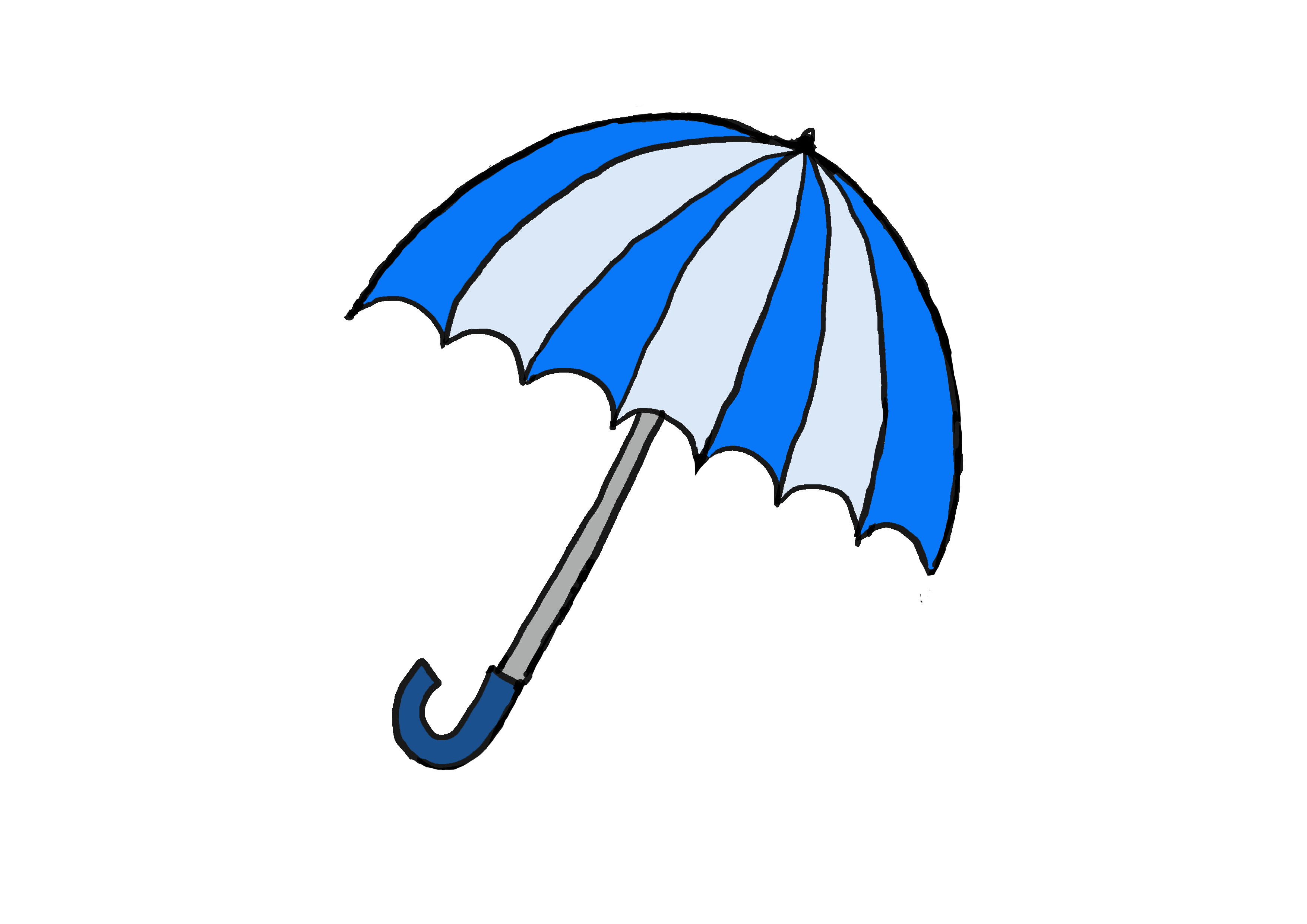 商用フリーイラスト【傘】