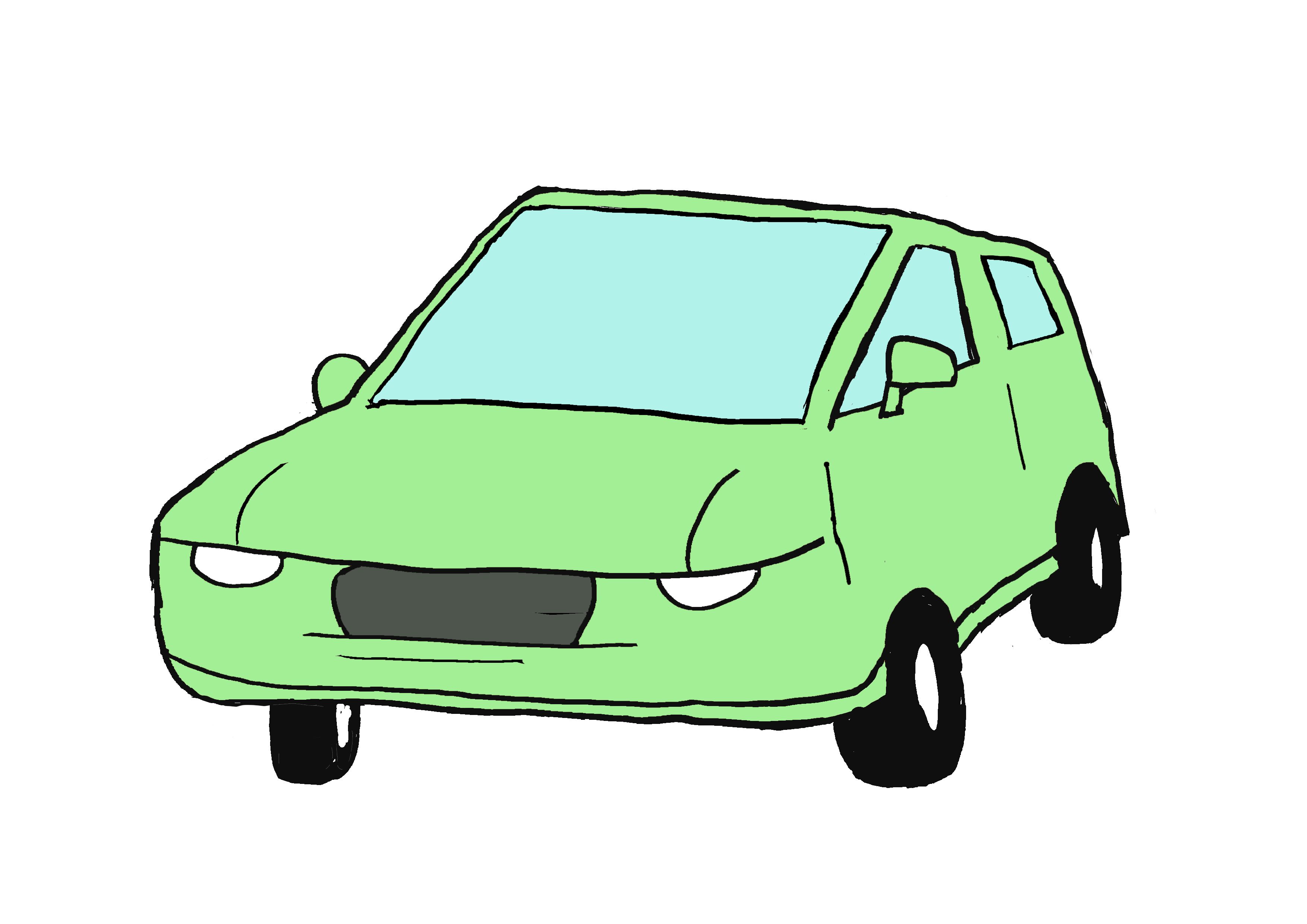 商用フリーイラスト【車】