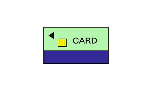 商用フリーイラスト【カード】