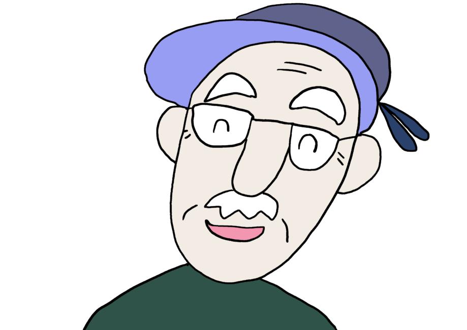 家族イラスト【おじいさん】