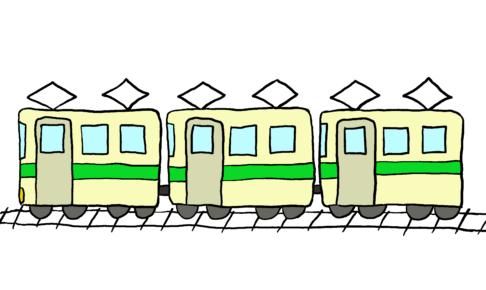 商用フリーイラスト【電車】