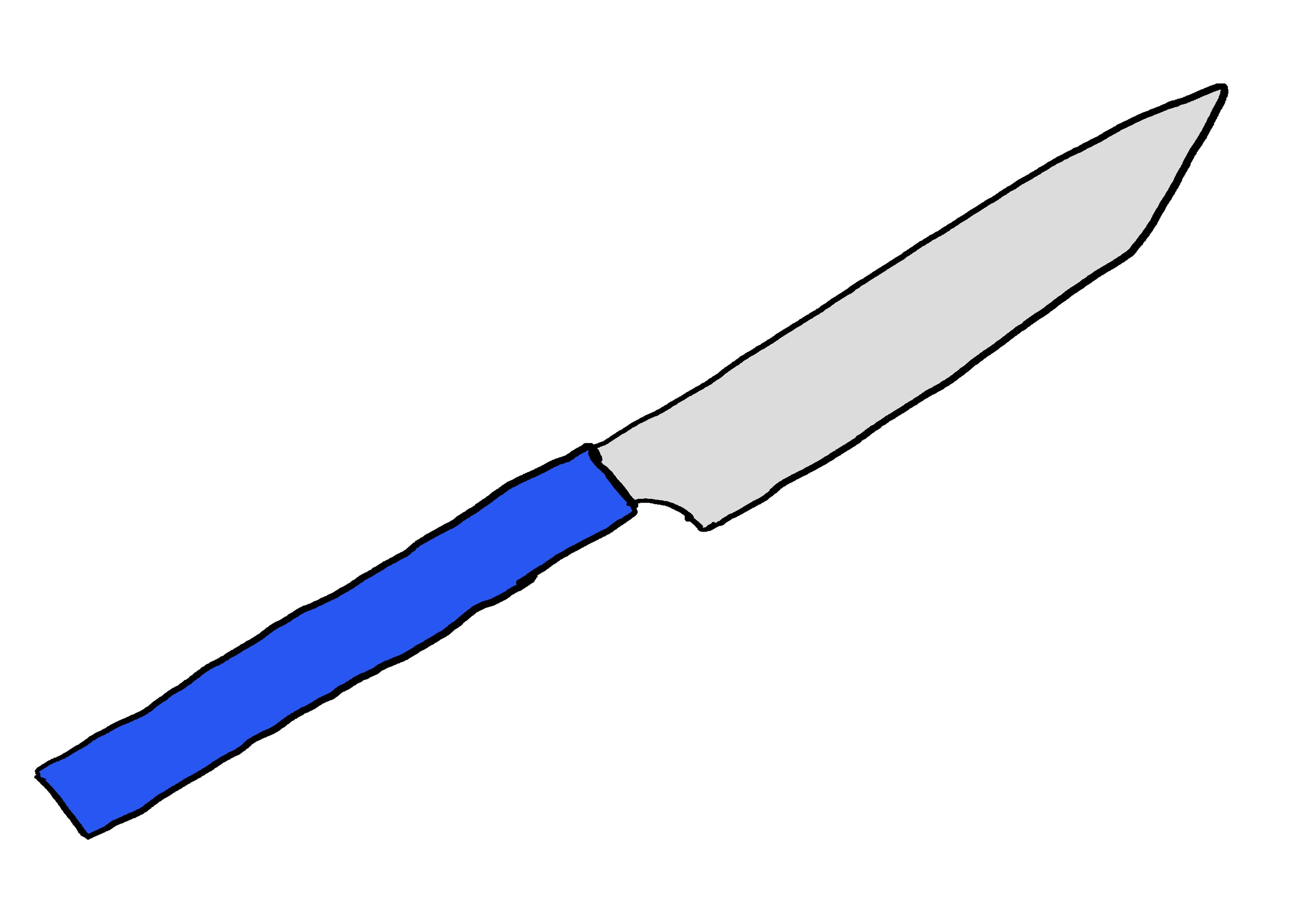 イラスト【ナイフ】