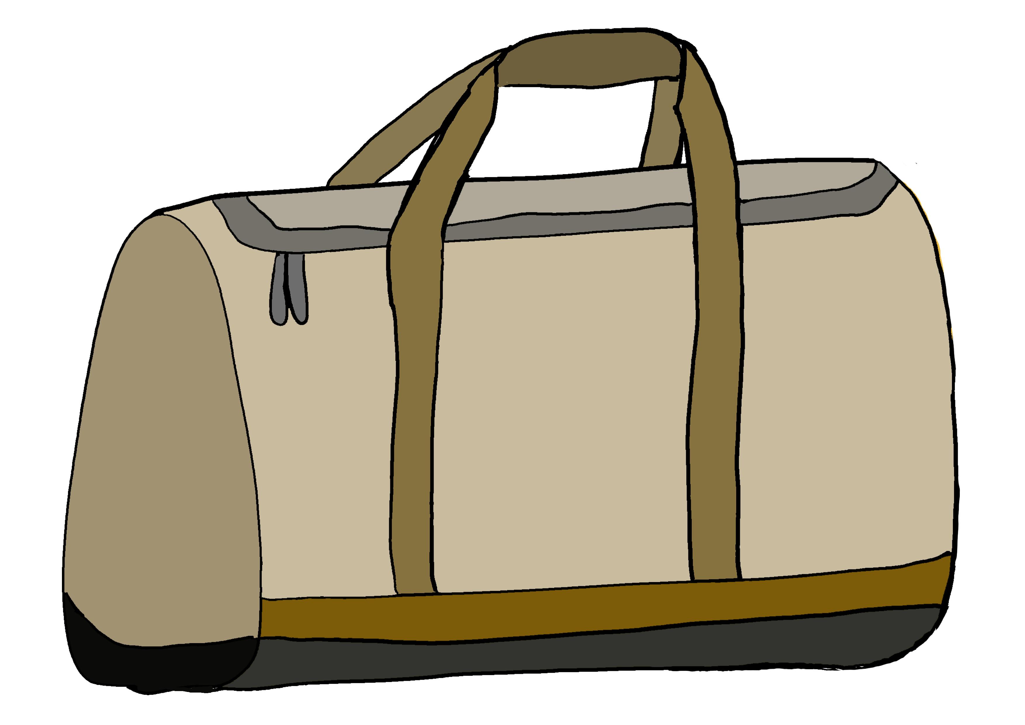 イラスト【荷物・かばん】