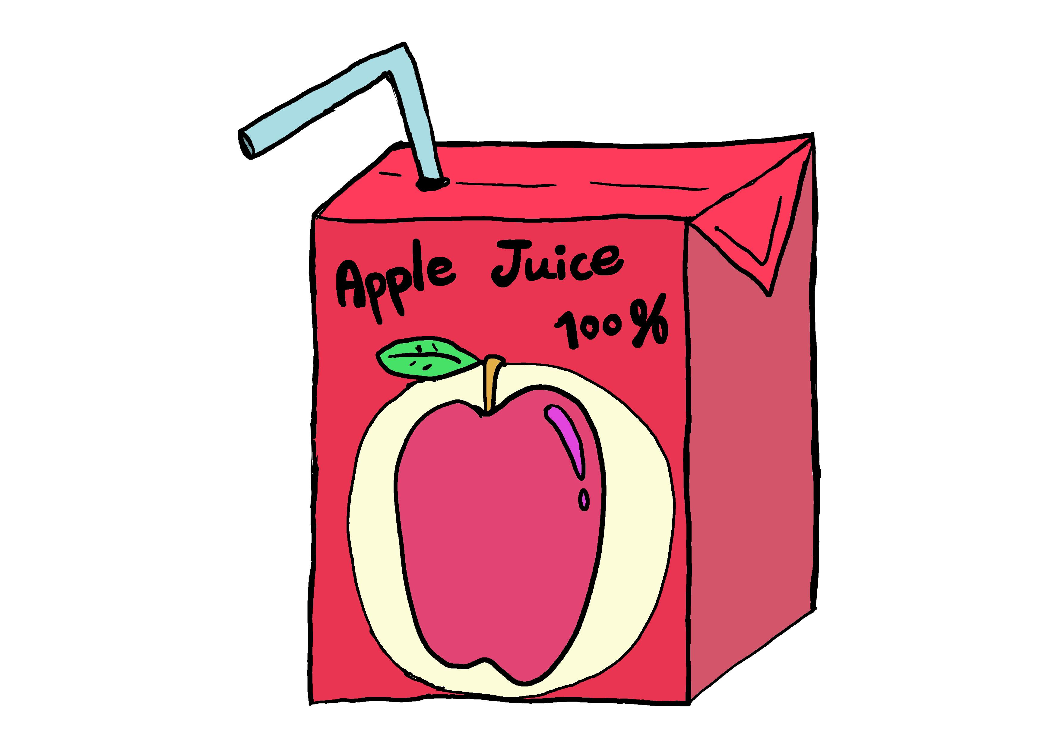 商用フリーイラスト【ジュース】