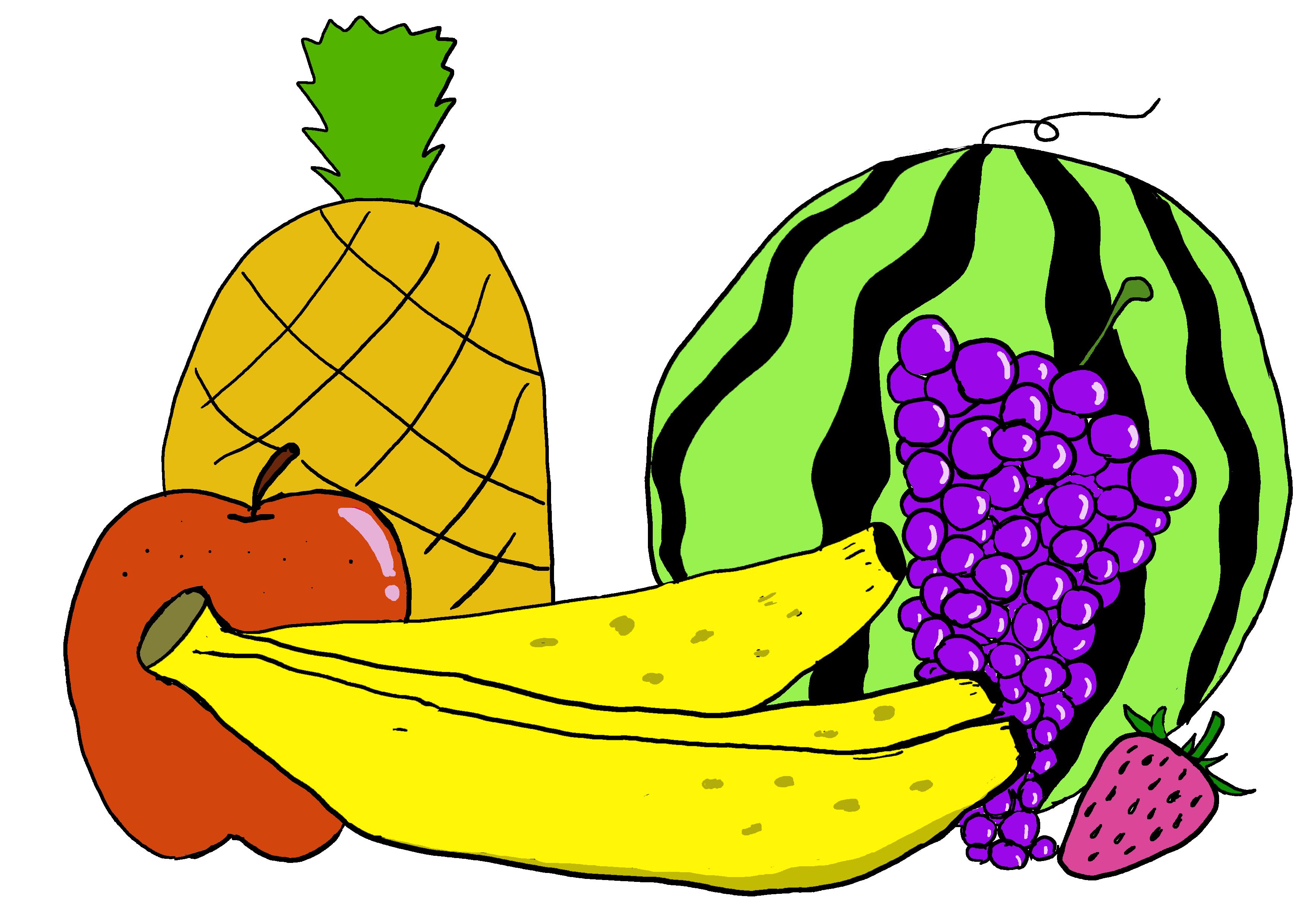 商用フリーイラスト【果物】