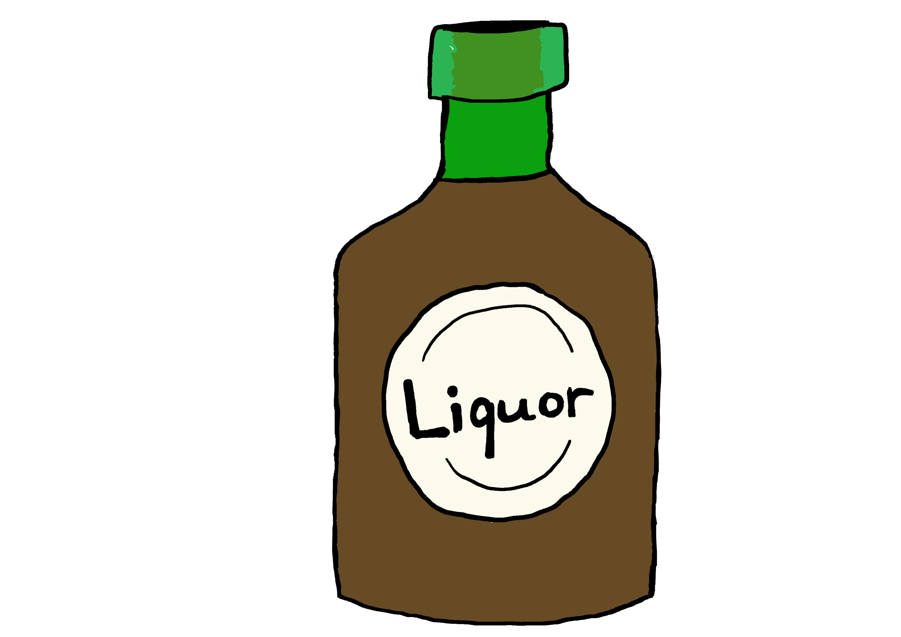 商用フリーイラスト【リキュール、お酒】