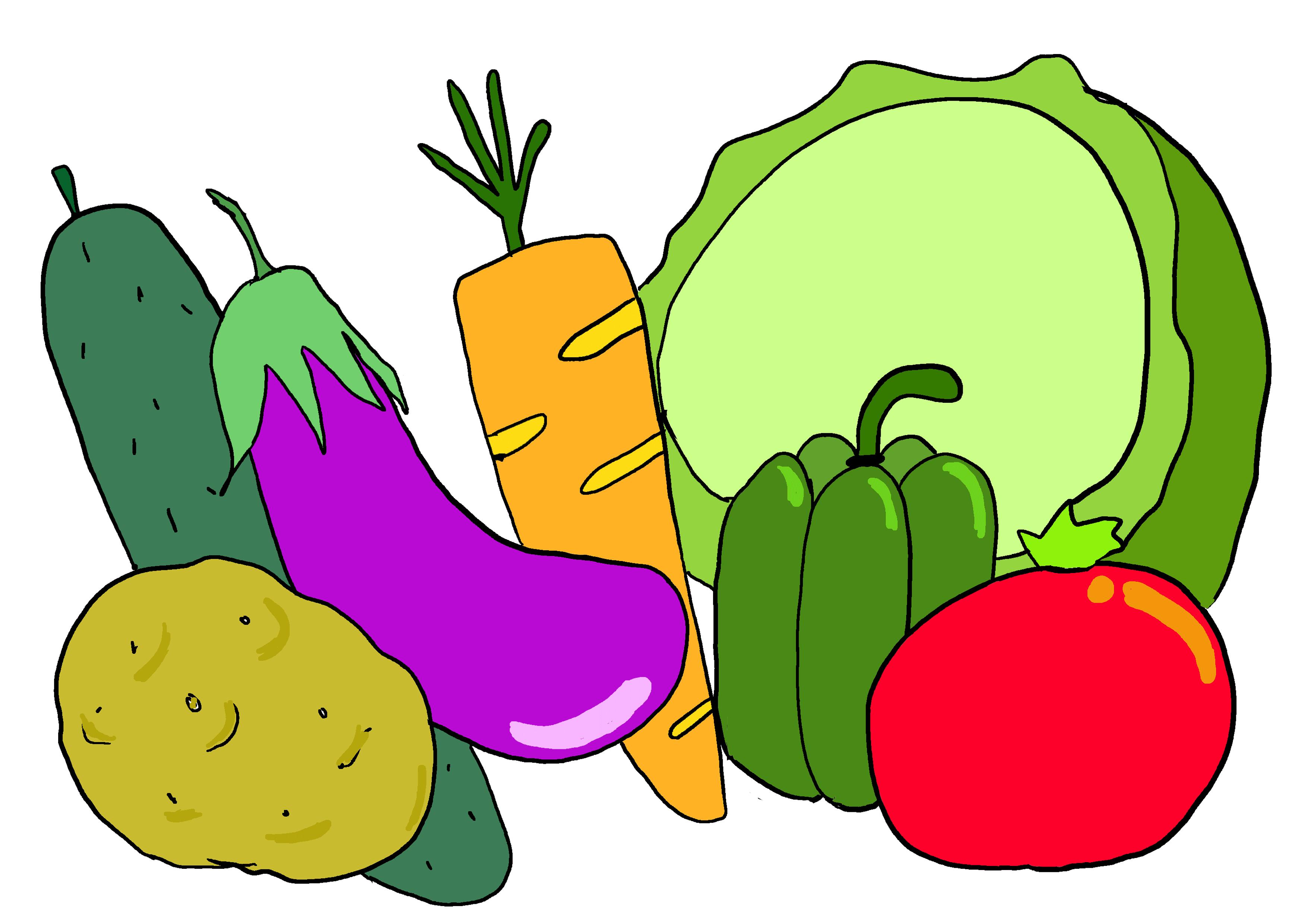 商用フリーイラスト【野菜】