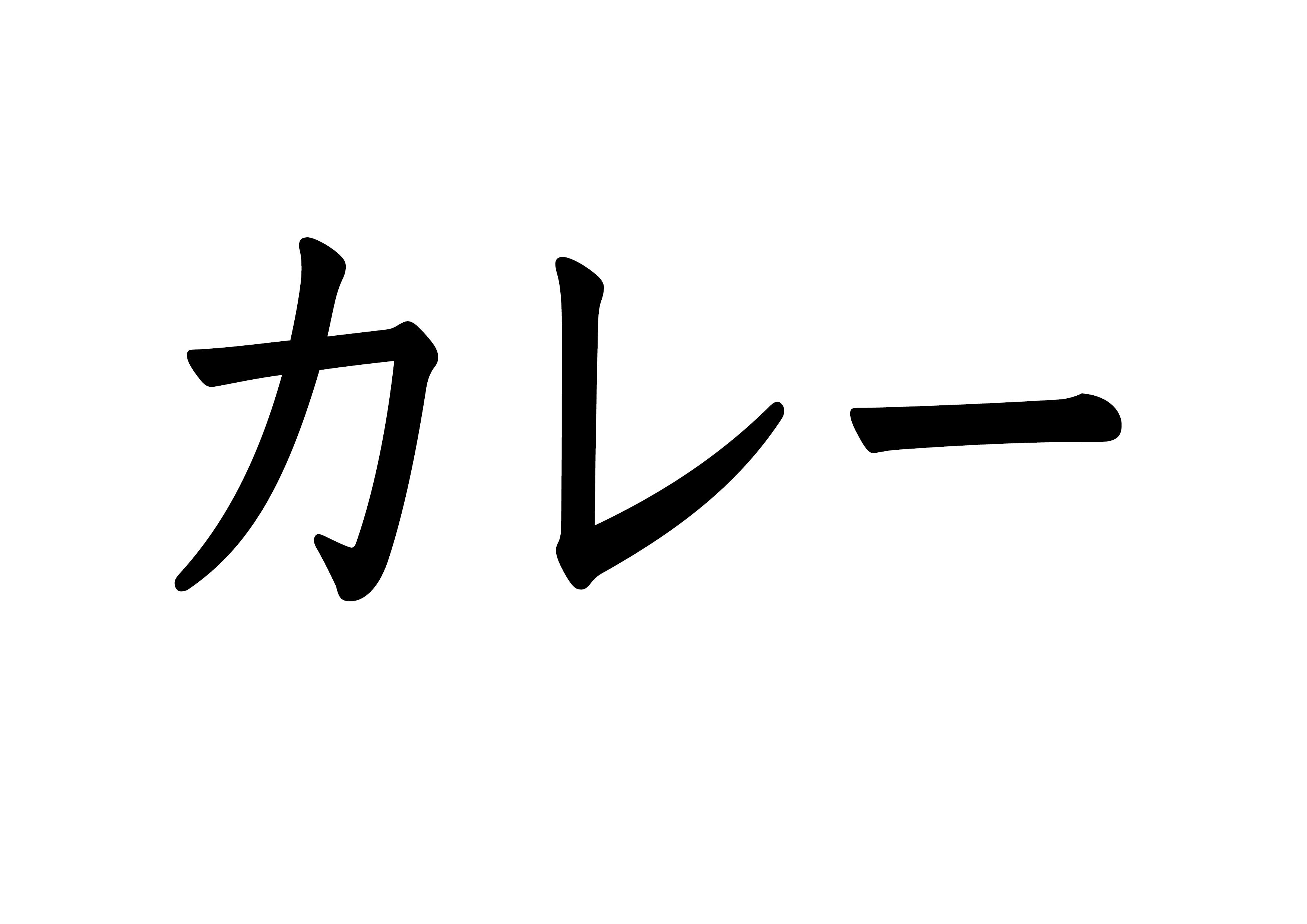 フラッシュカード【カレー】