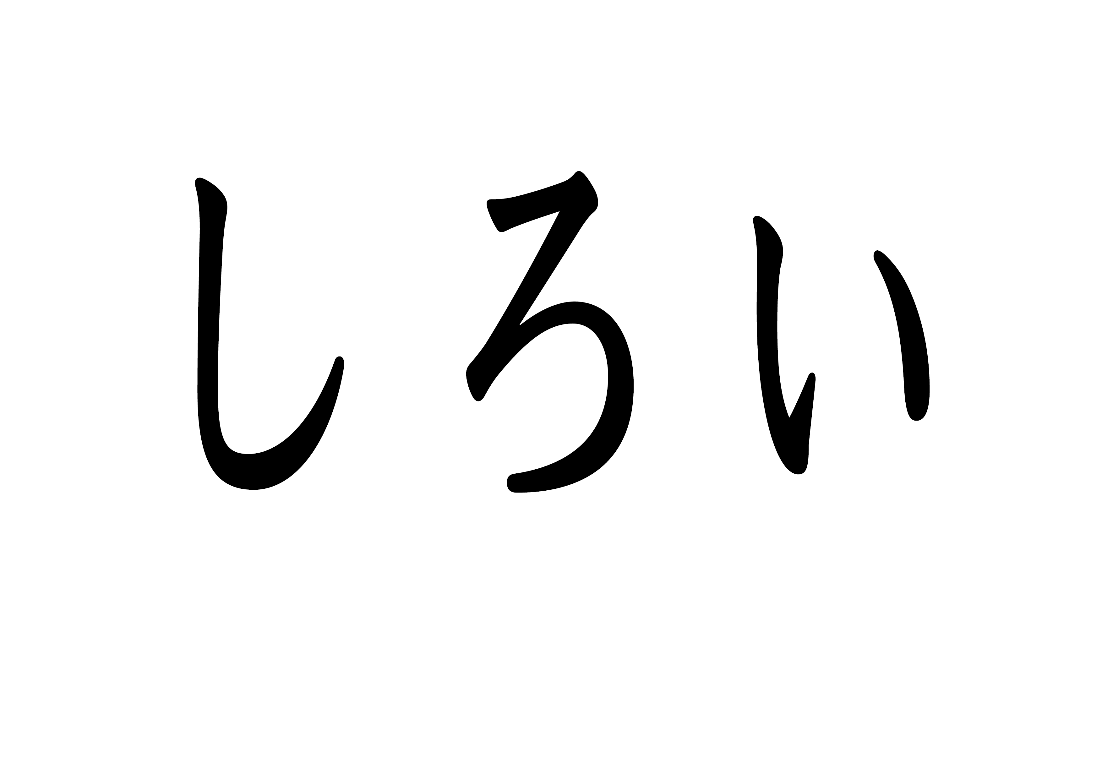 フラッシュカード【白い】