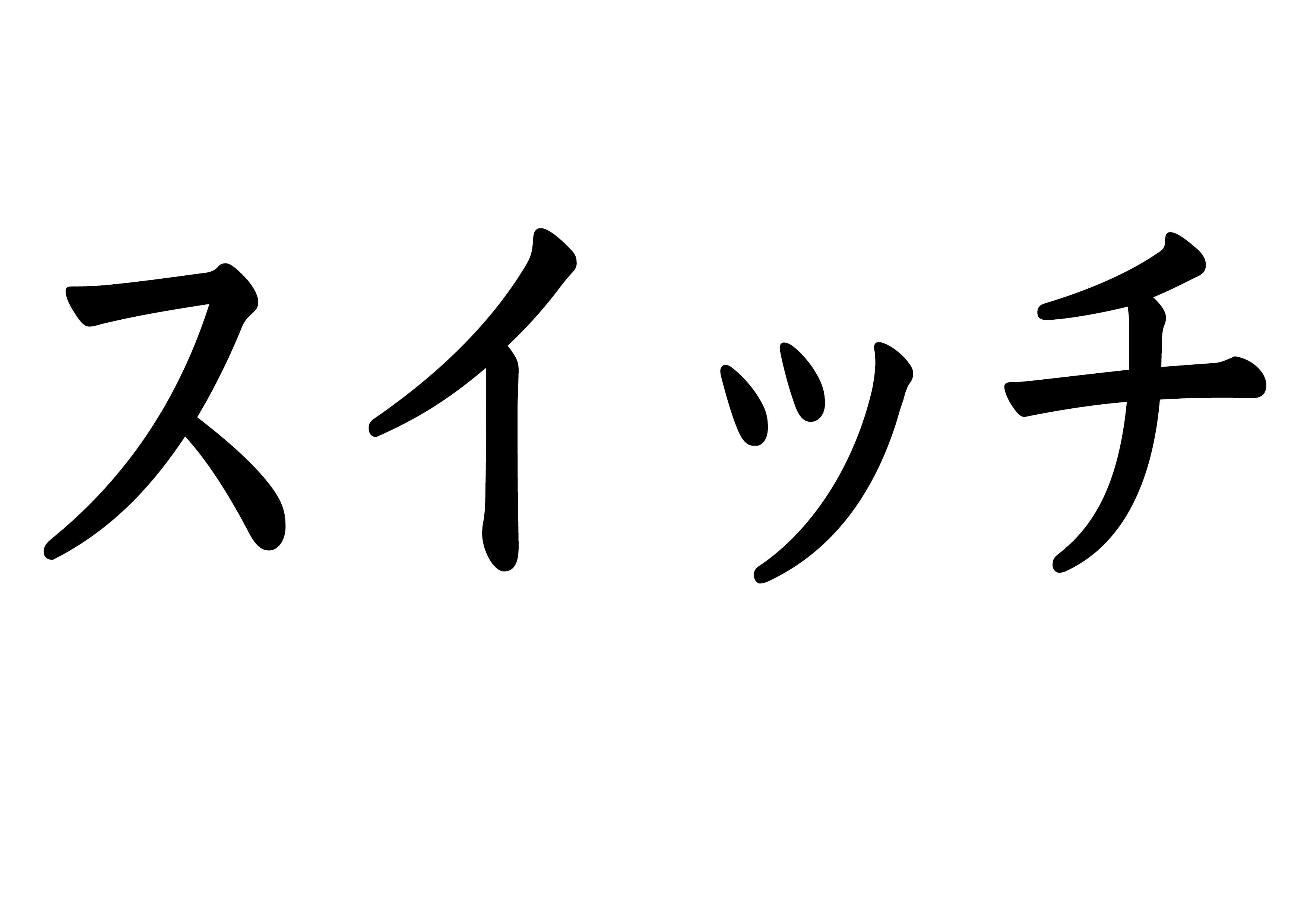 フラッシュカード【スイッチ】
