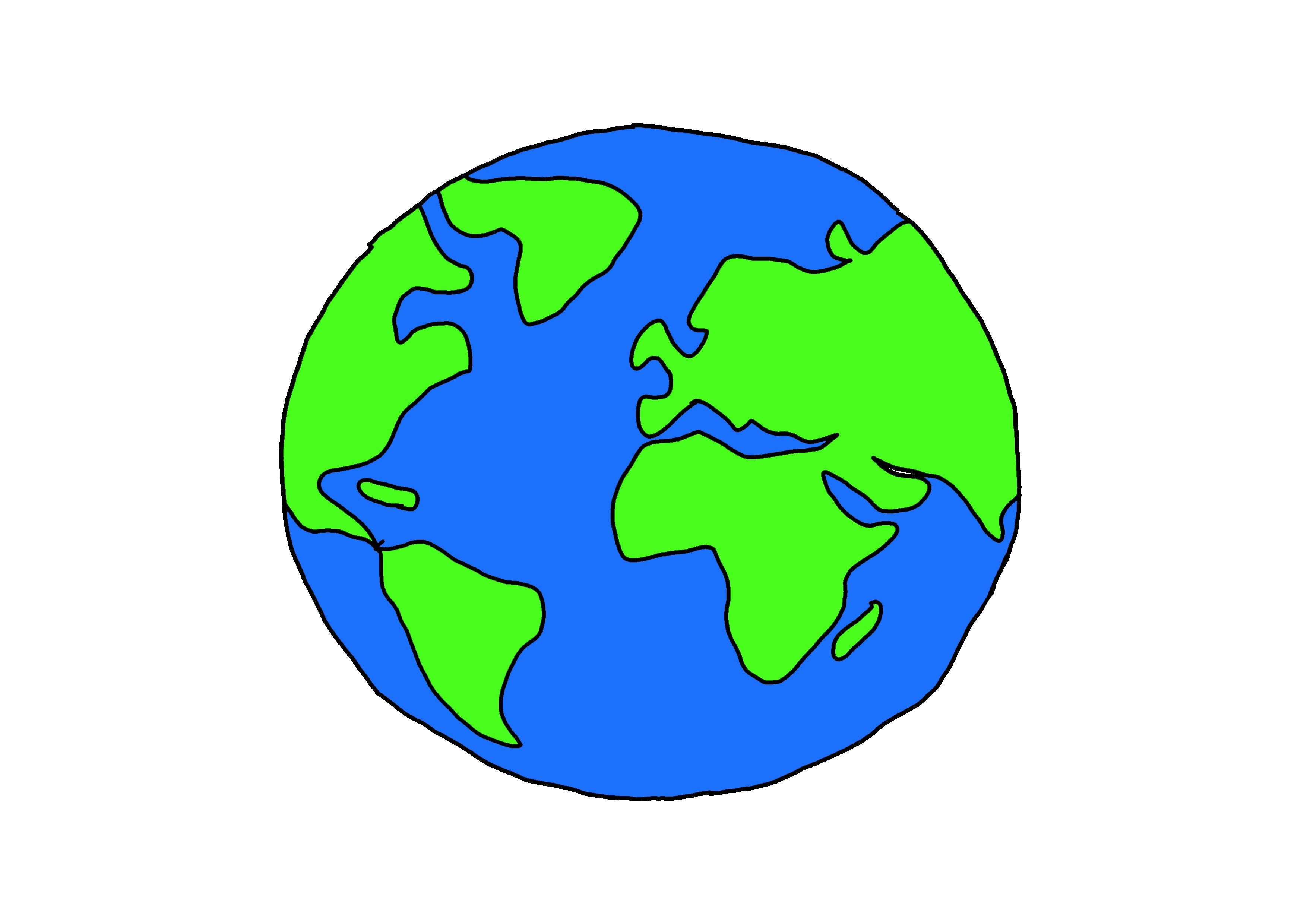 イラスト【地球】