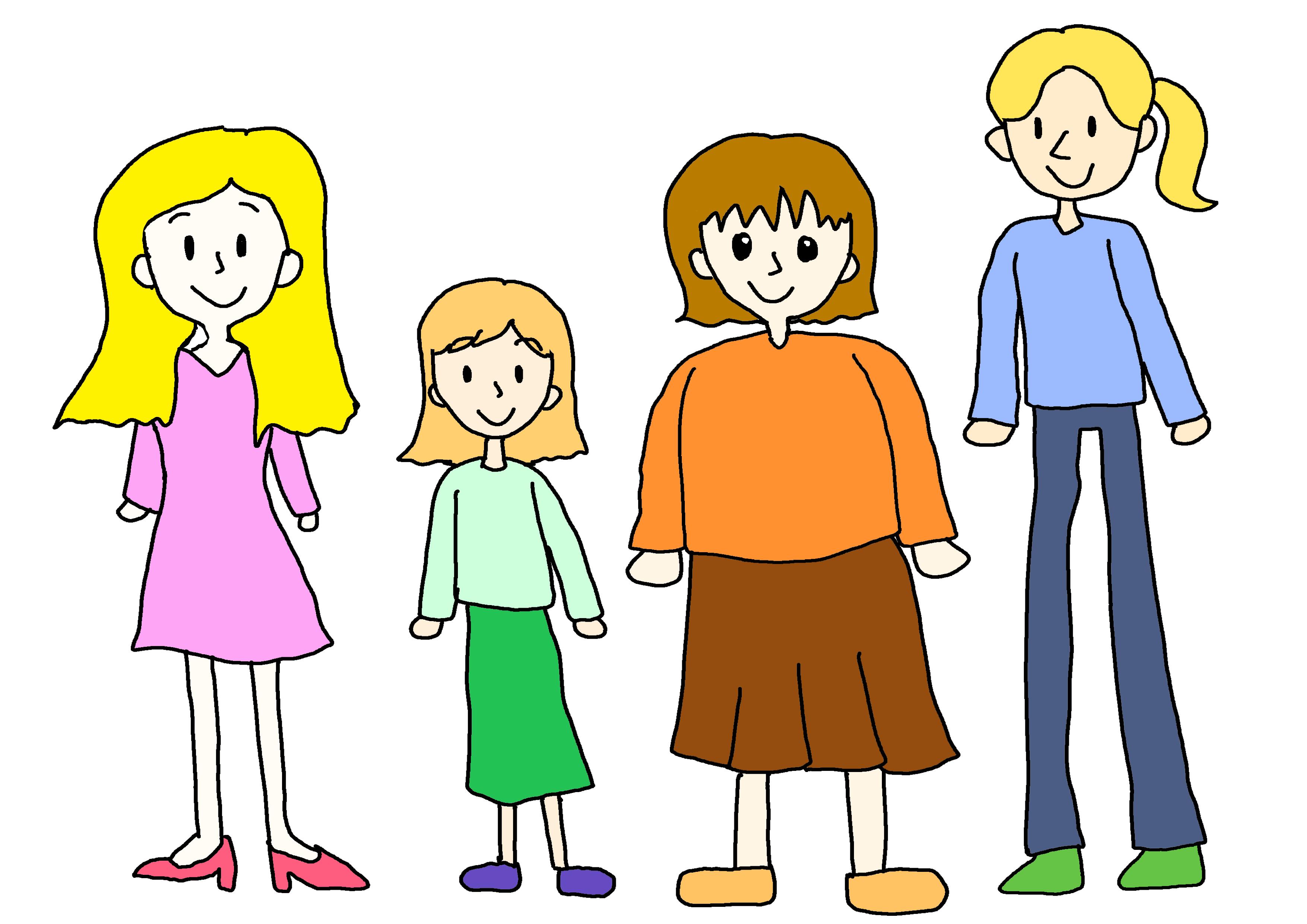 色々な女の人