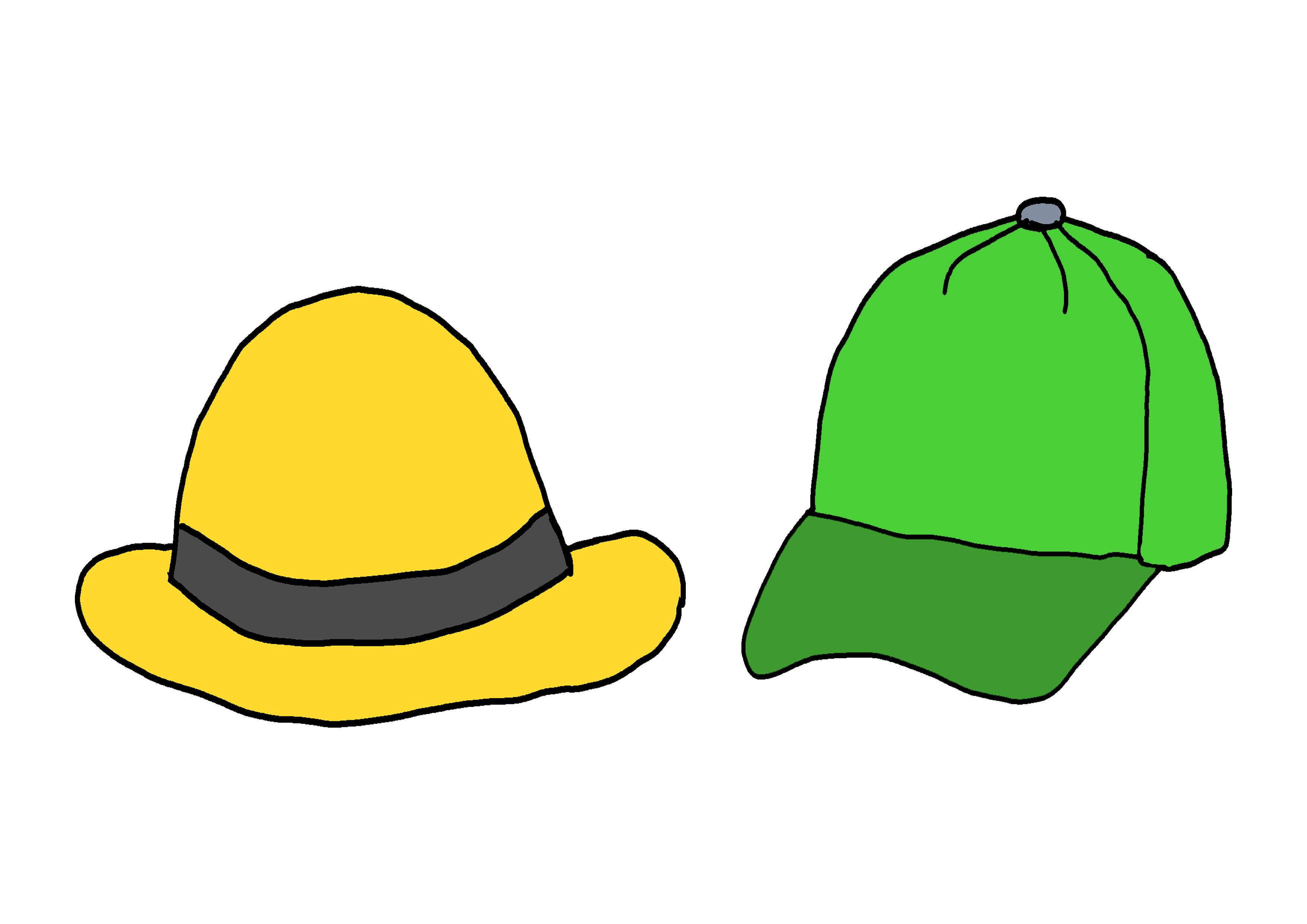 イラスト【帽子】