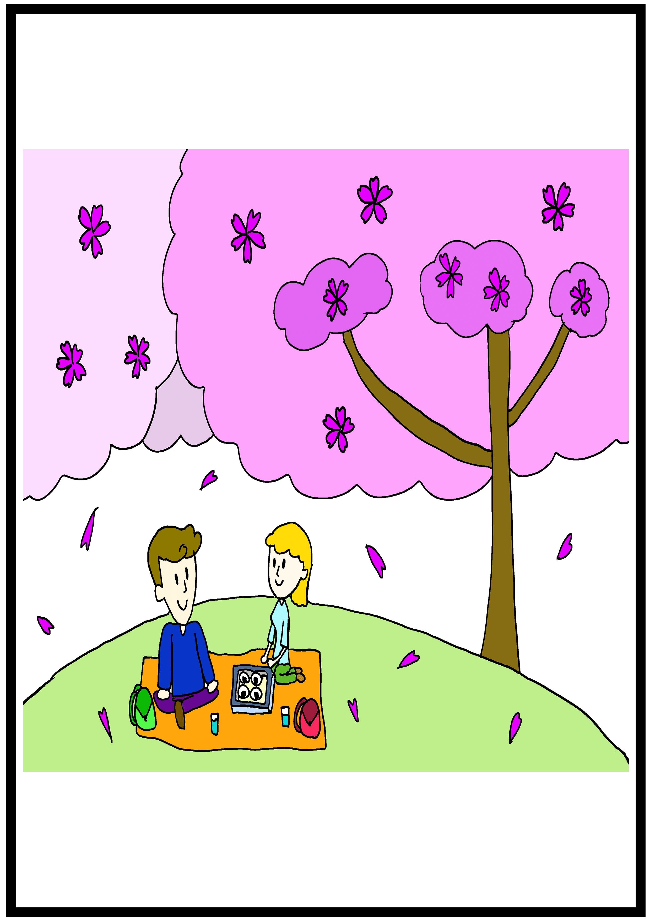 イラスト【桜】