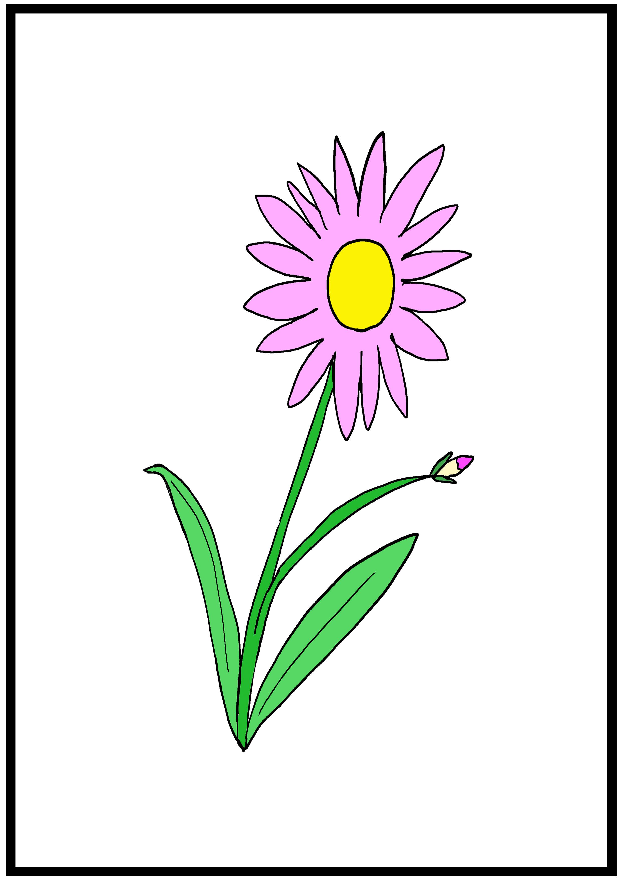 イラスト【花】