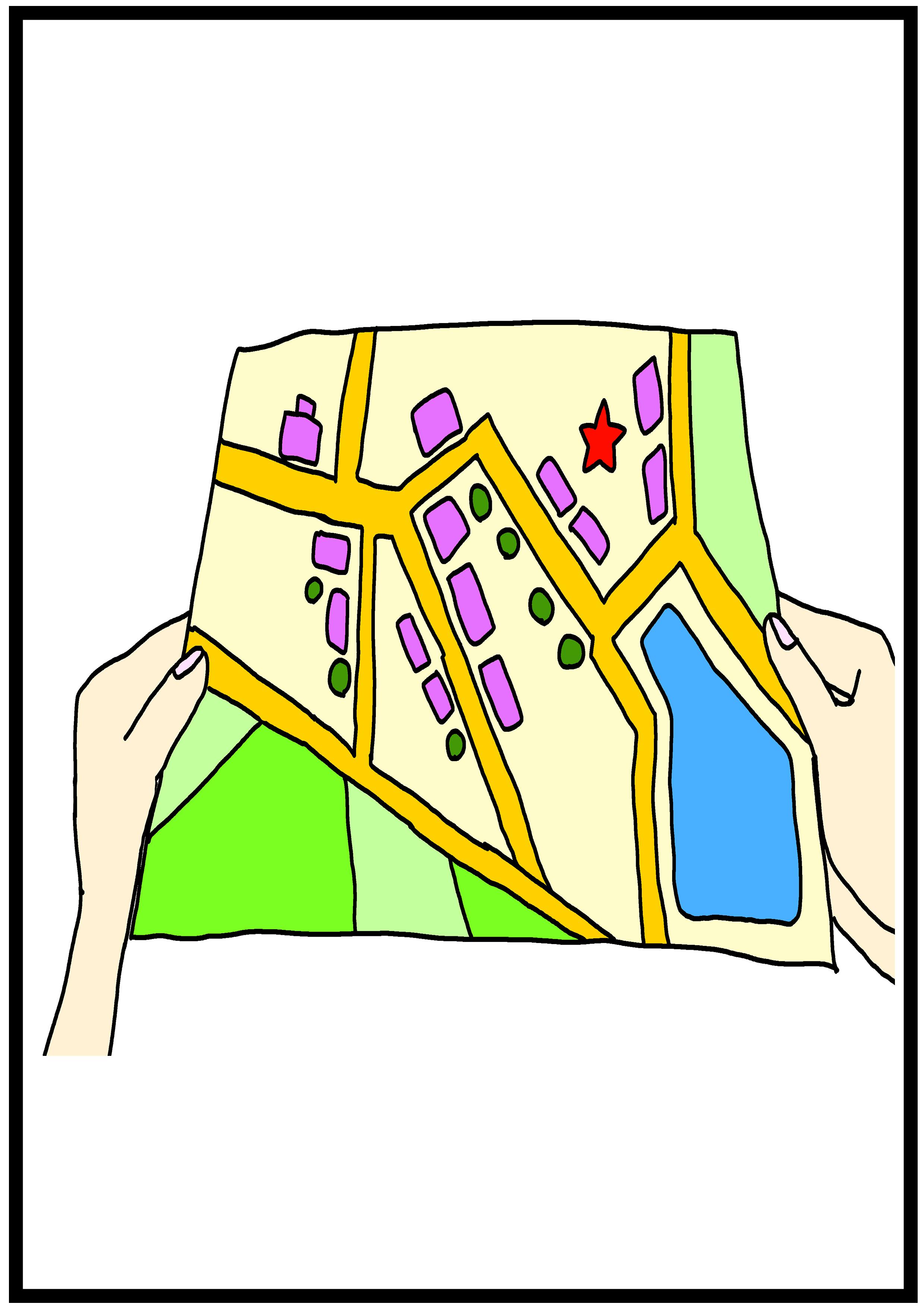 イラスト【地図】