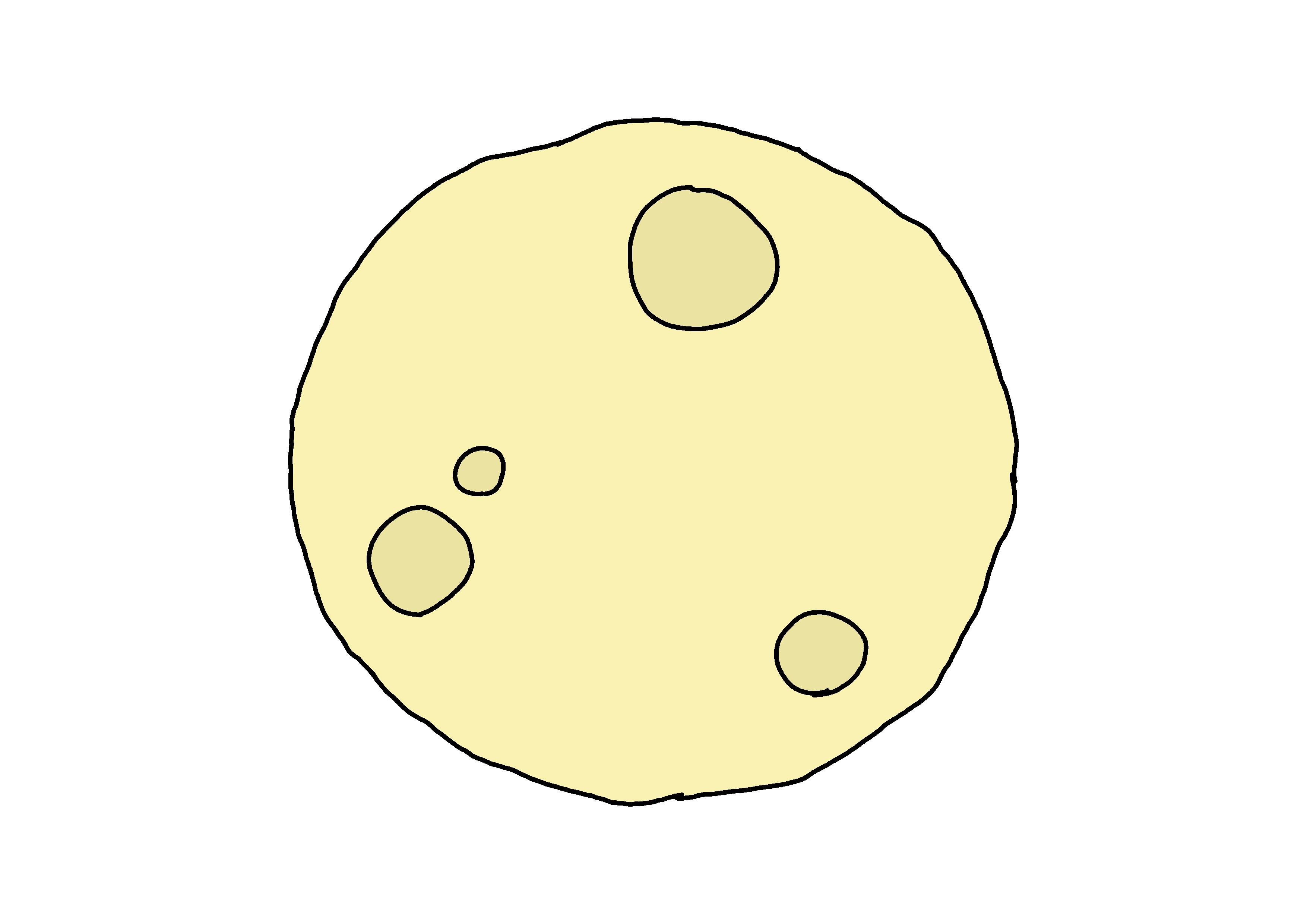 イラスト【月】