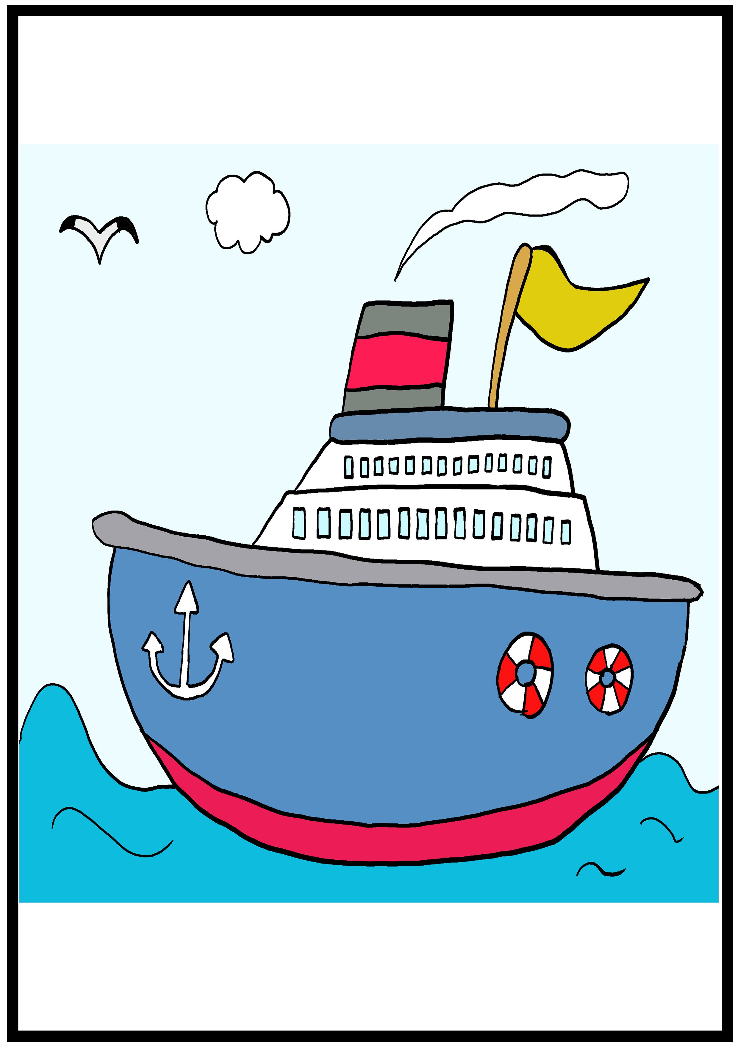 イラスト【船】