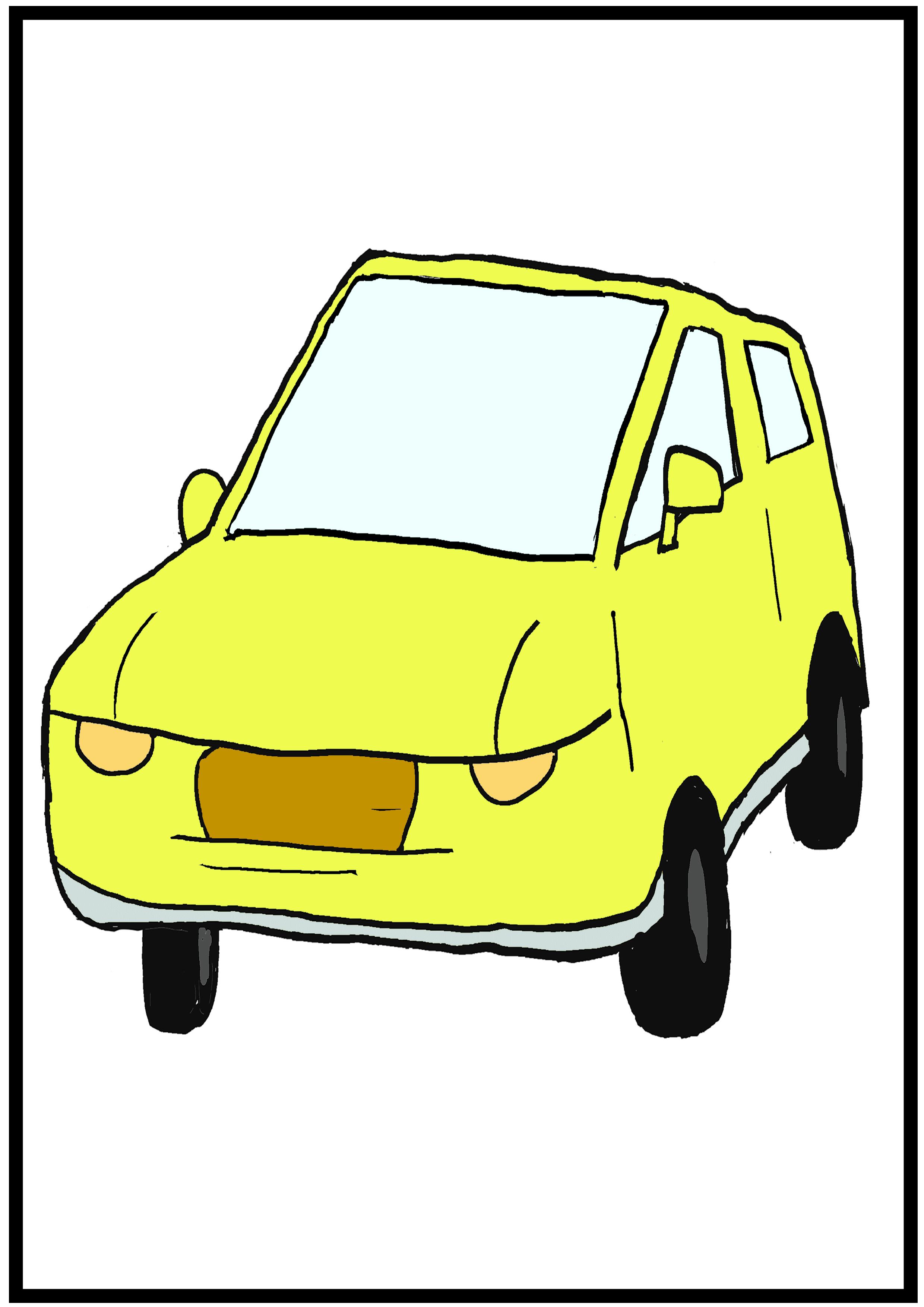 イラスト【車】