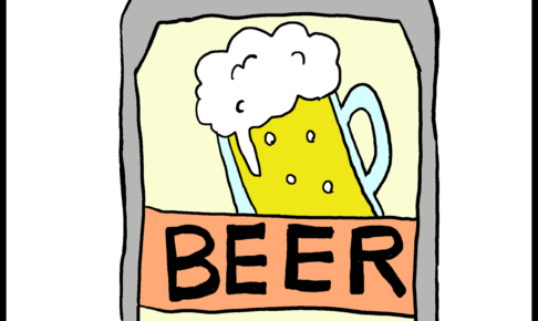 カルタイラスト【ビール】