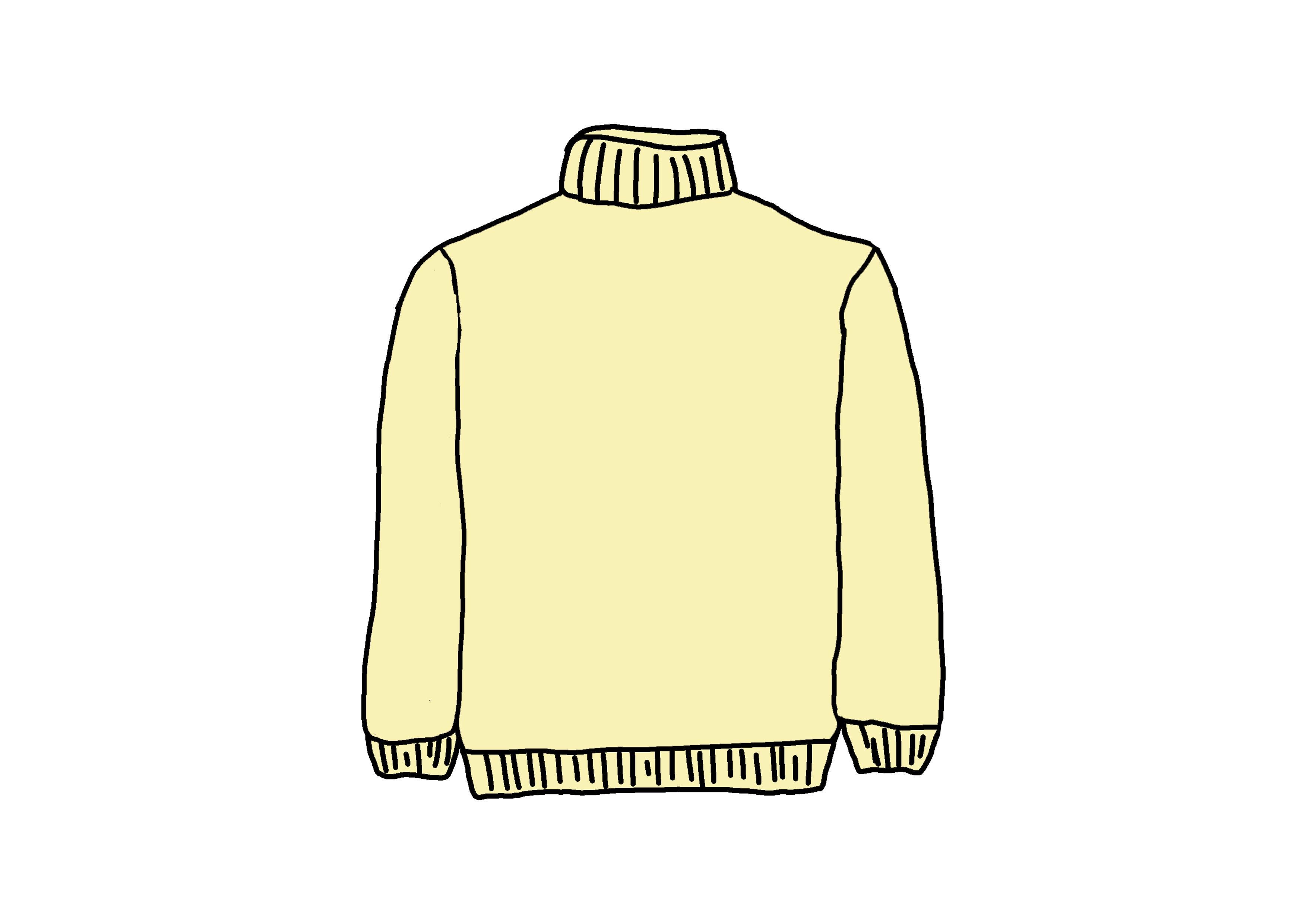 イラスト【セーター】
