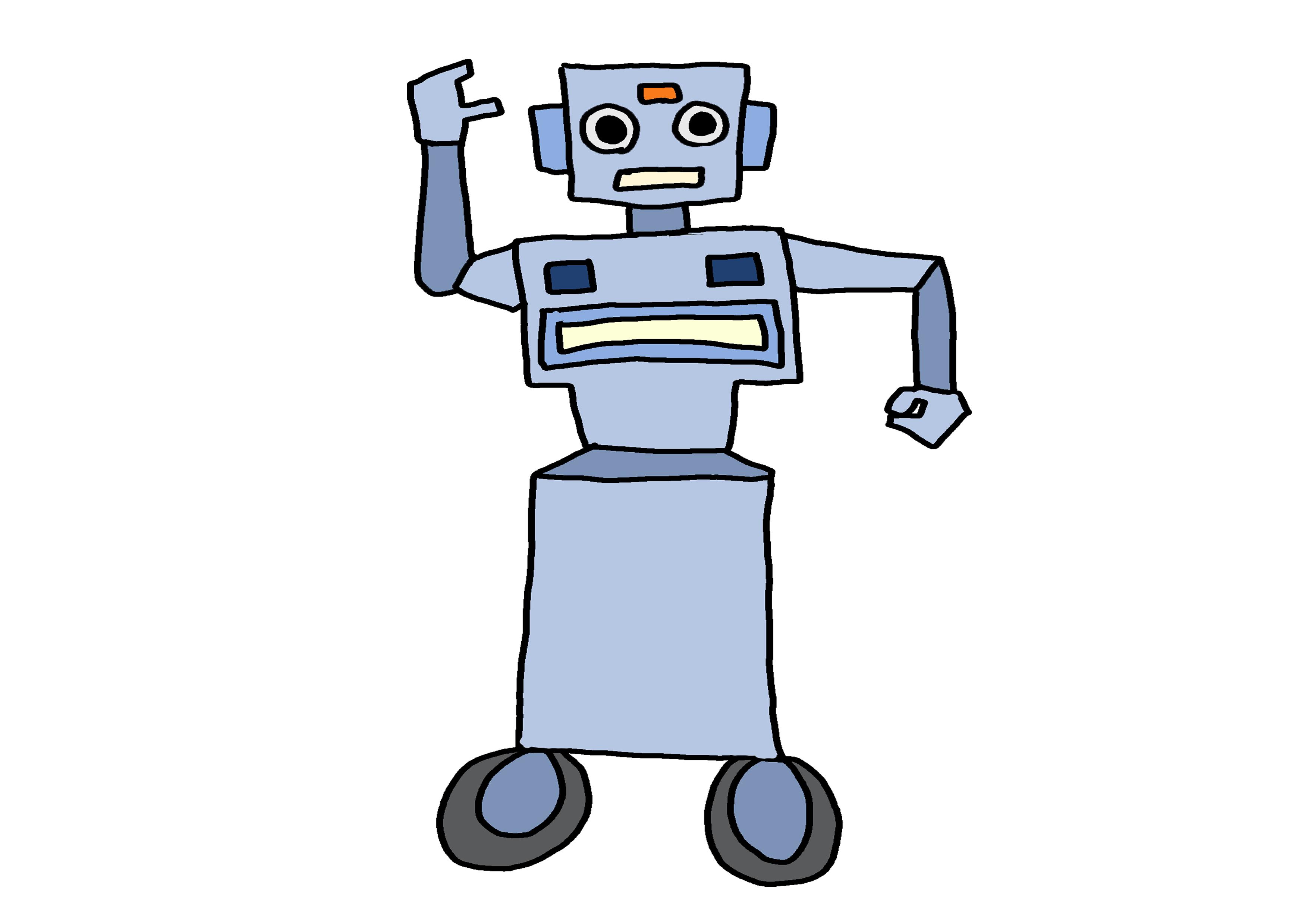 イラスト【ロボット】