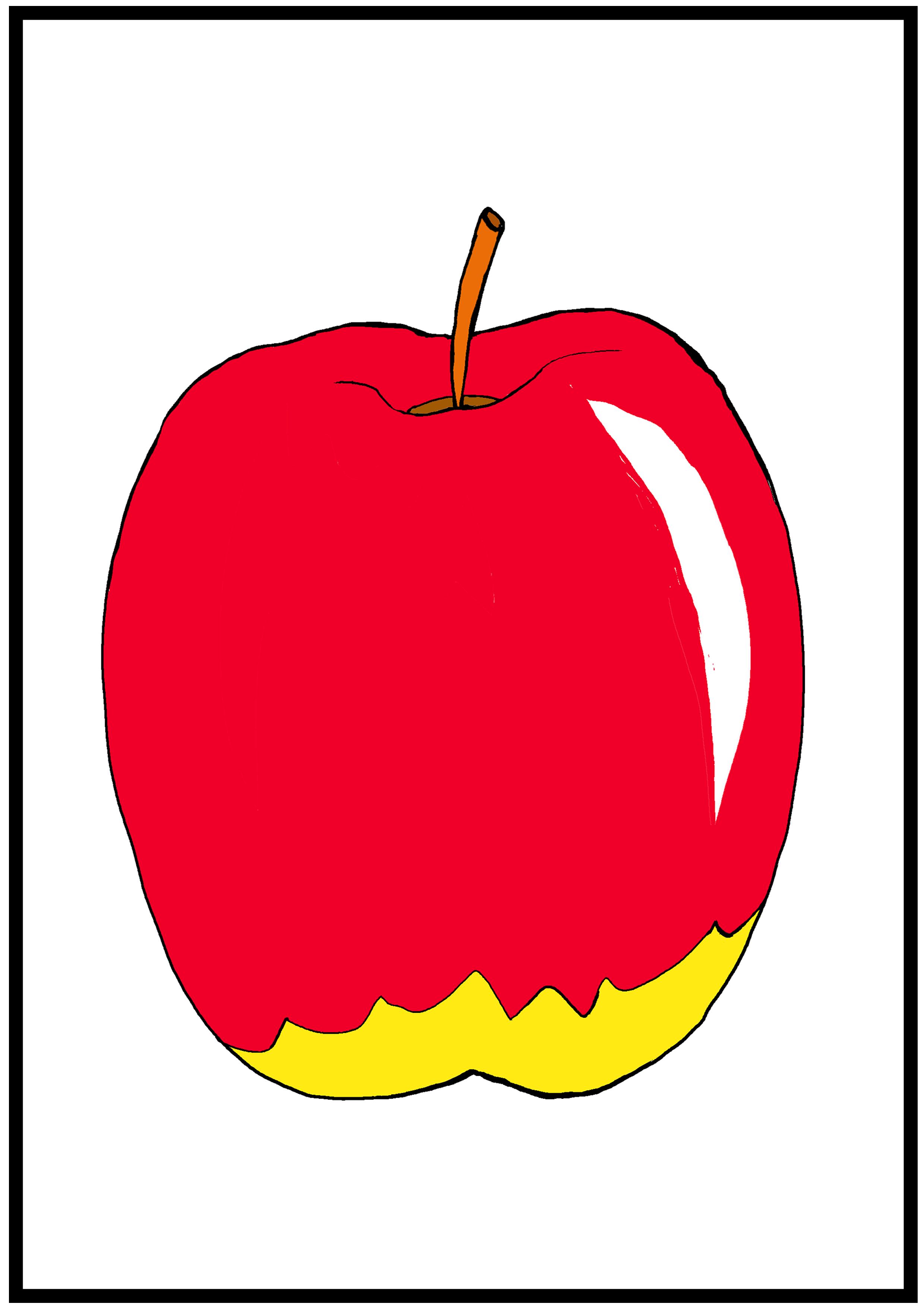 イラスト【りんご】