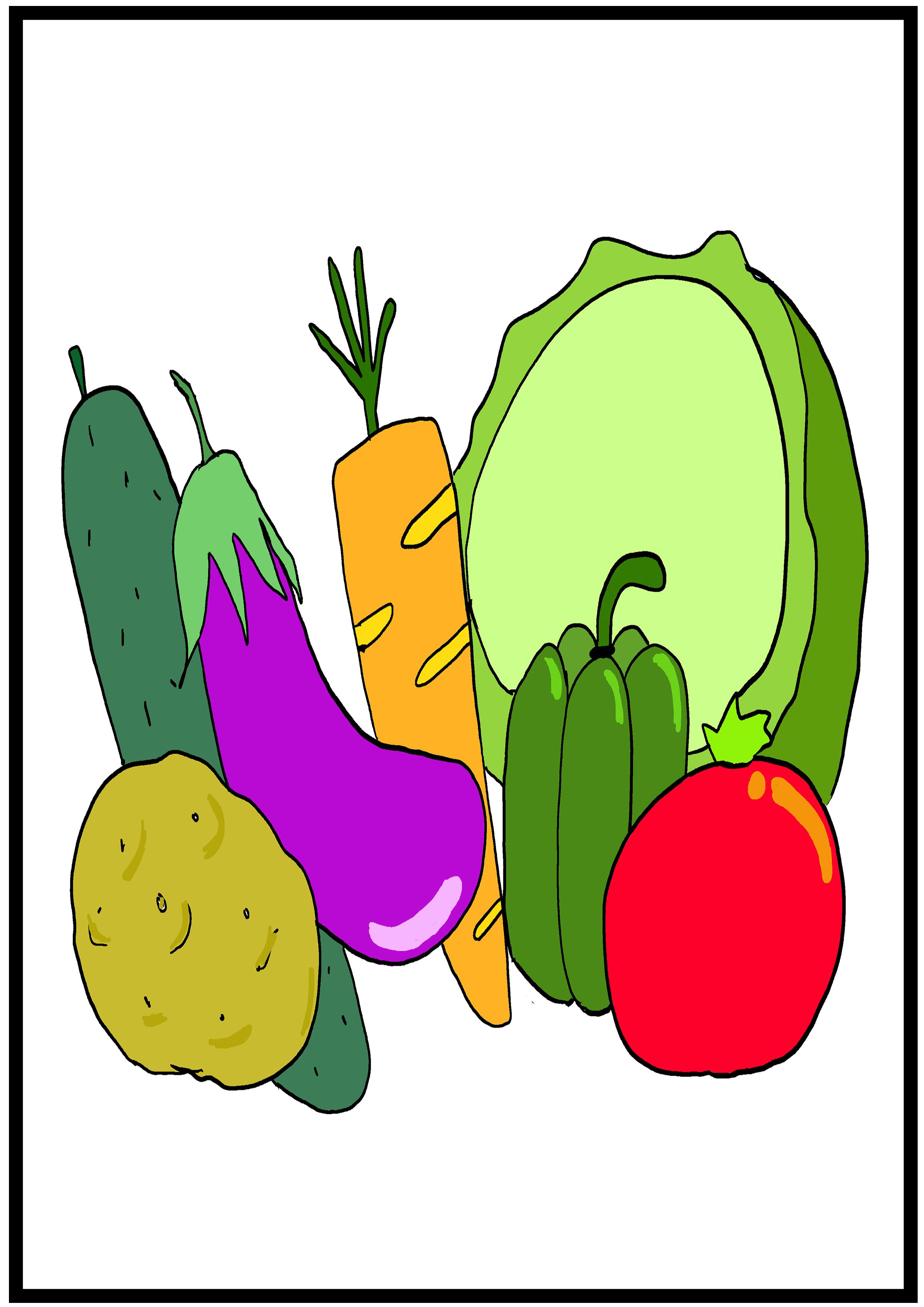 イラスト【野菜】