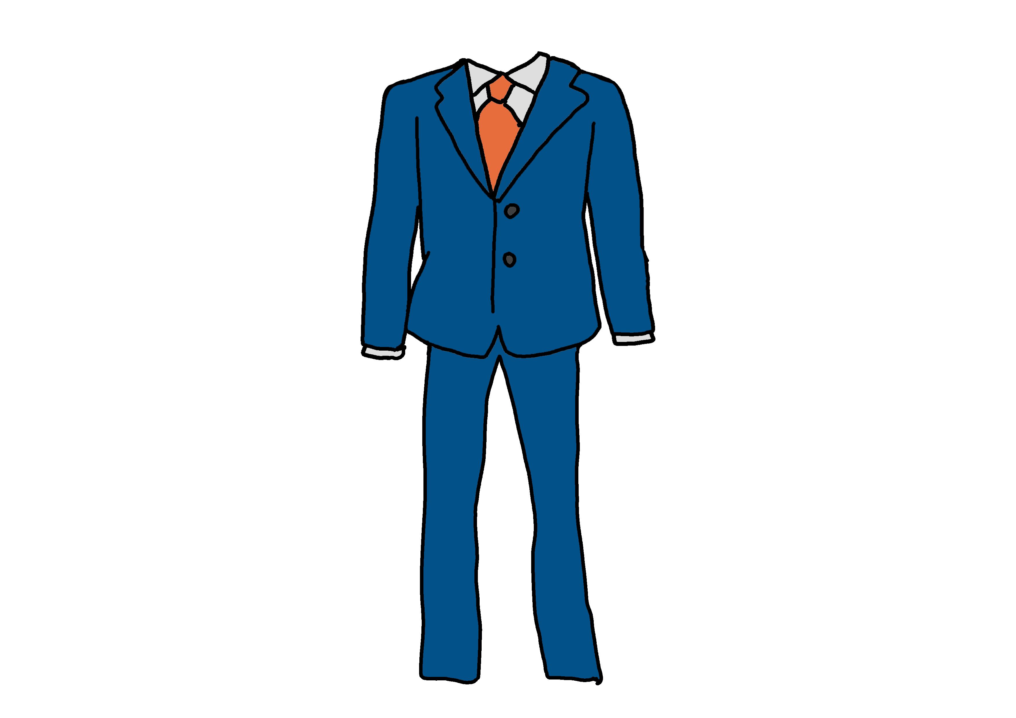 イラスト【スーツ】