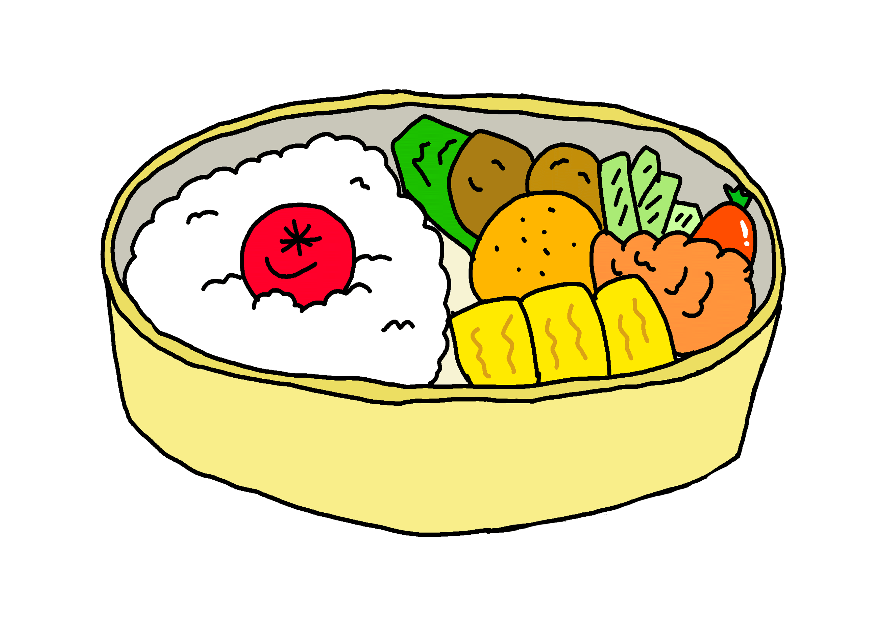 イラスト【お弁当】