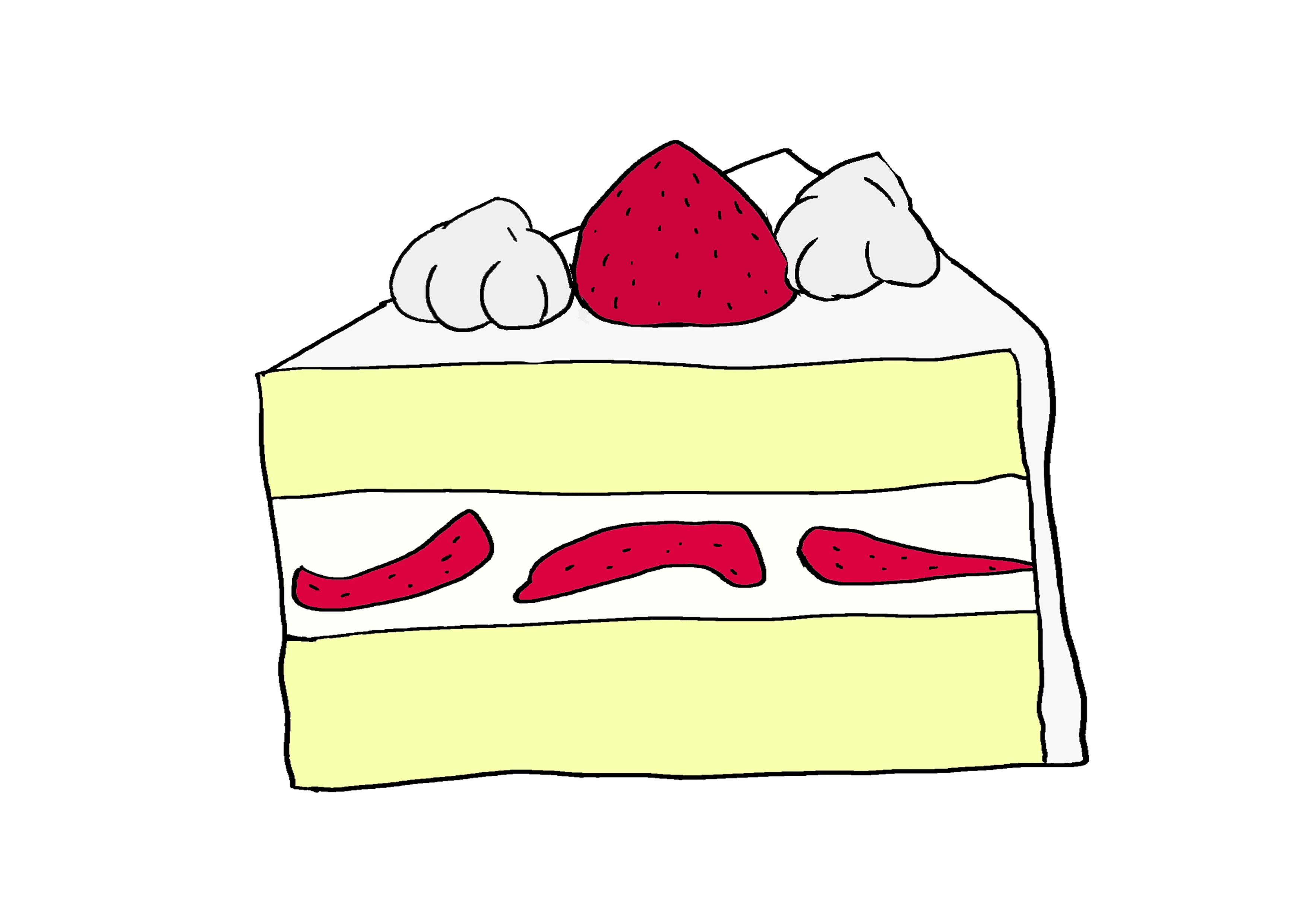 イラスト【ケーキ】