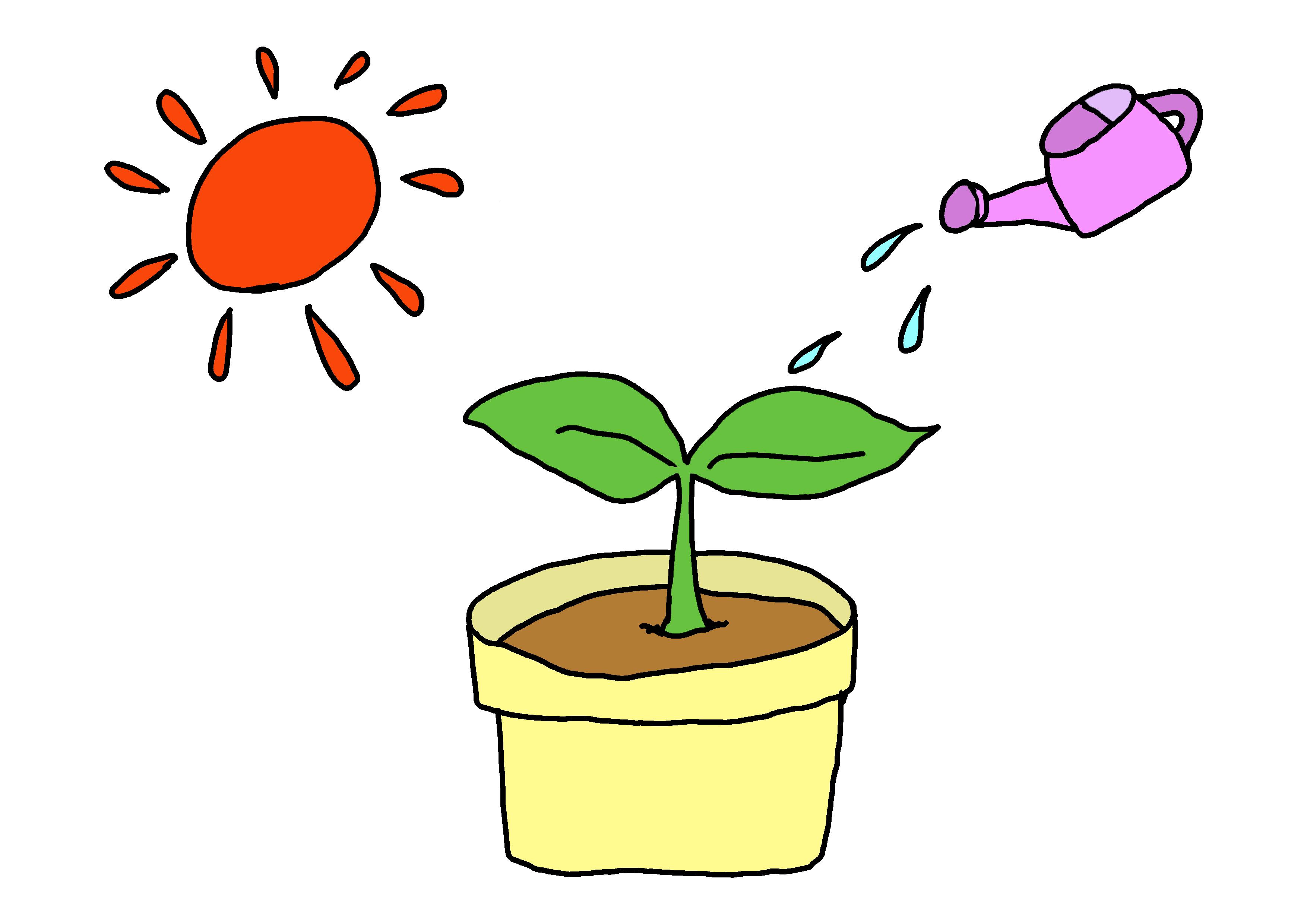 イラスト【水が要ります】