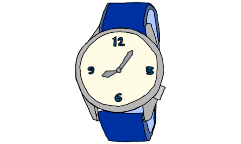 イラスト【腕時計】