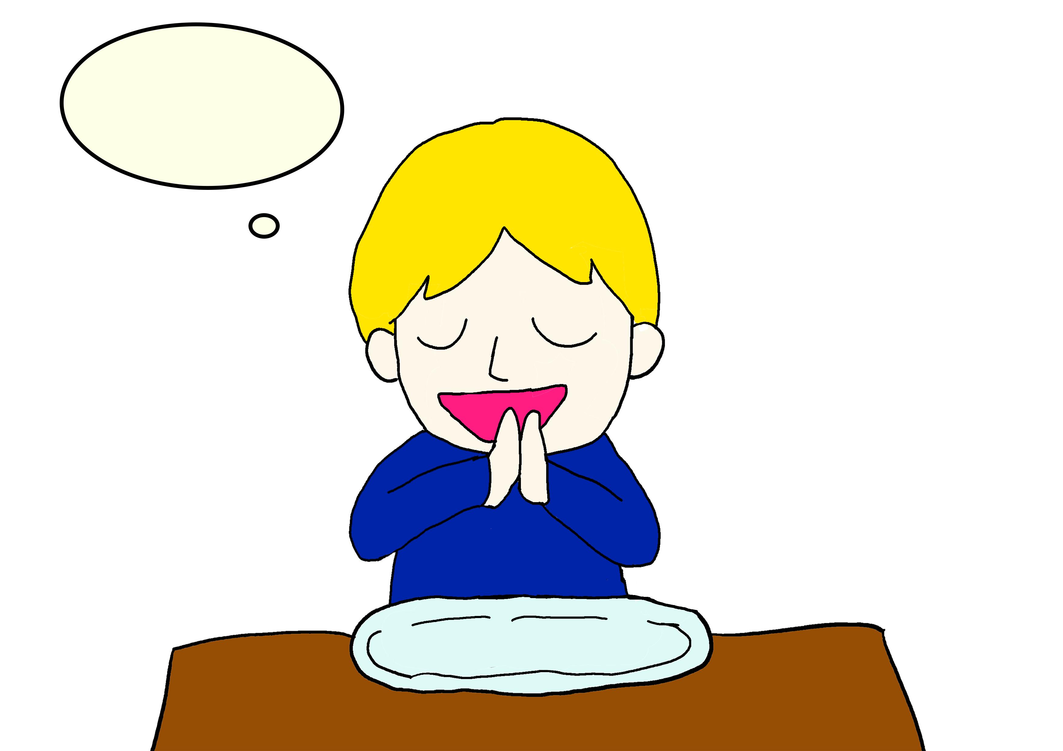 イラスト23課【ごちそうさまでした】