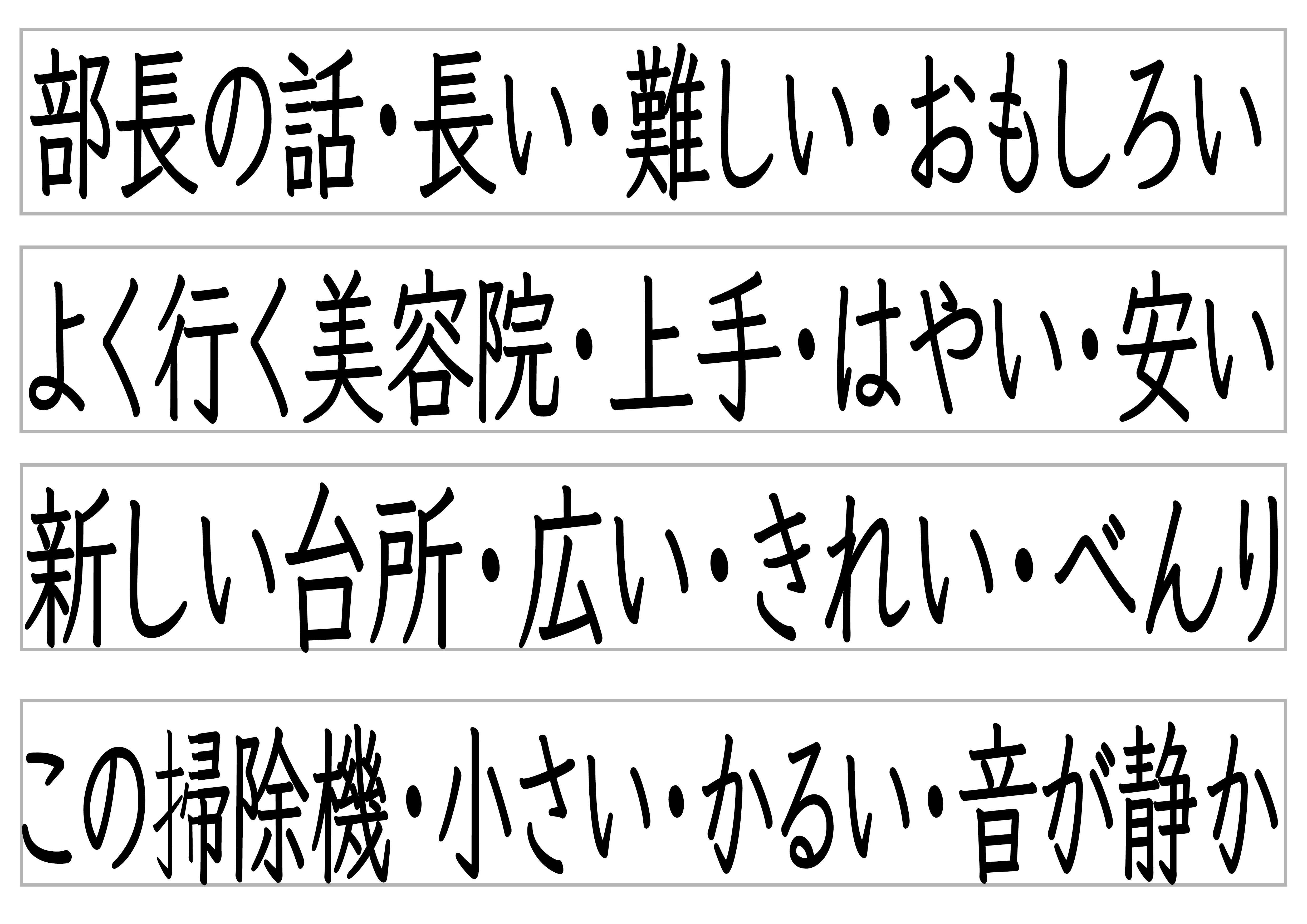 みんなの日本語28課