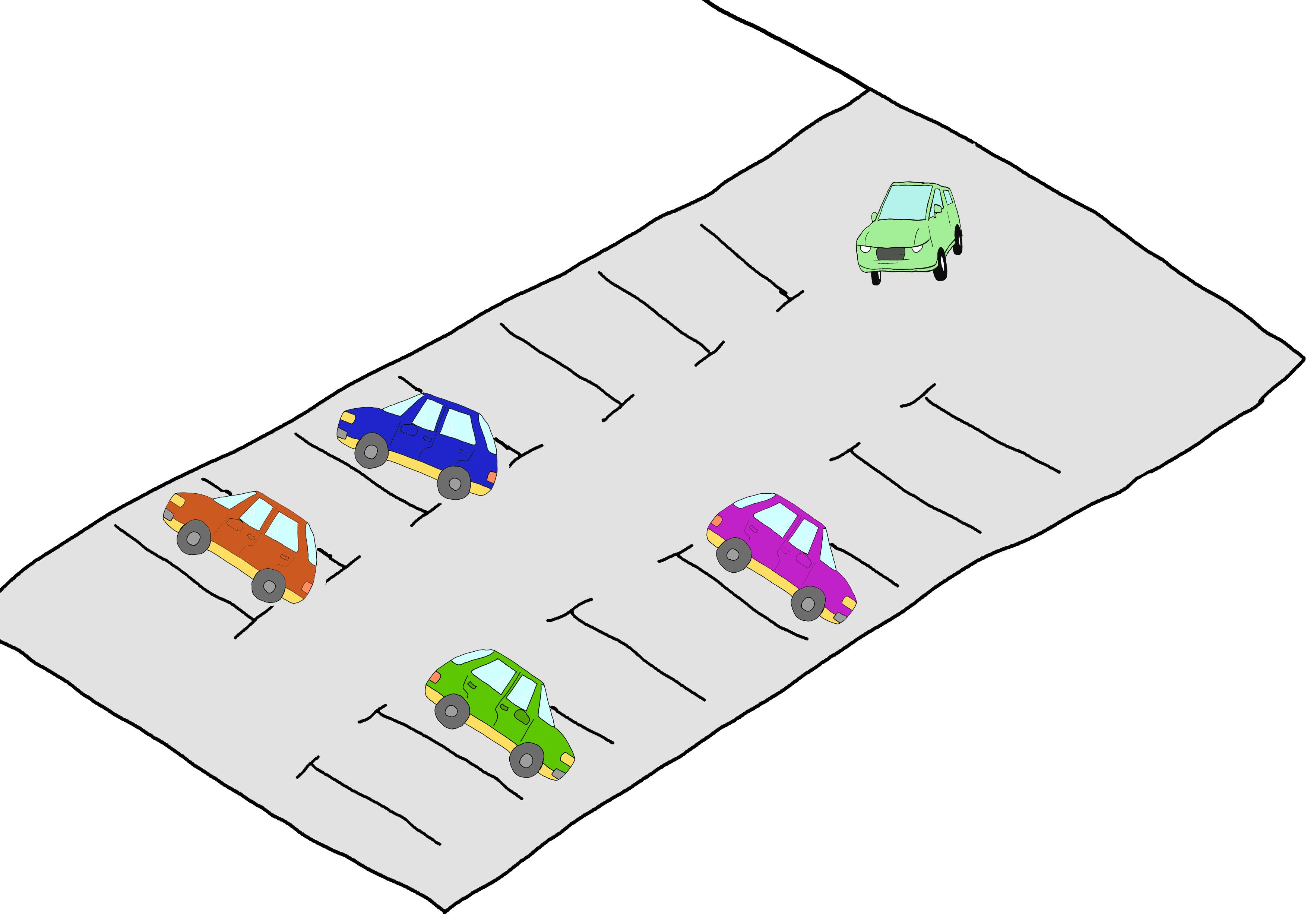 23課イラスト【駐車場】