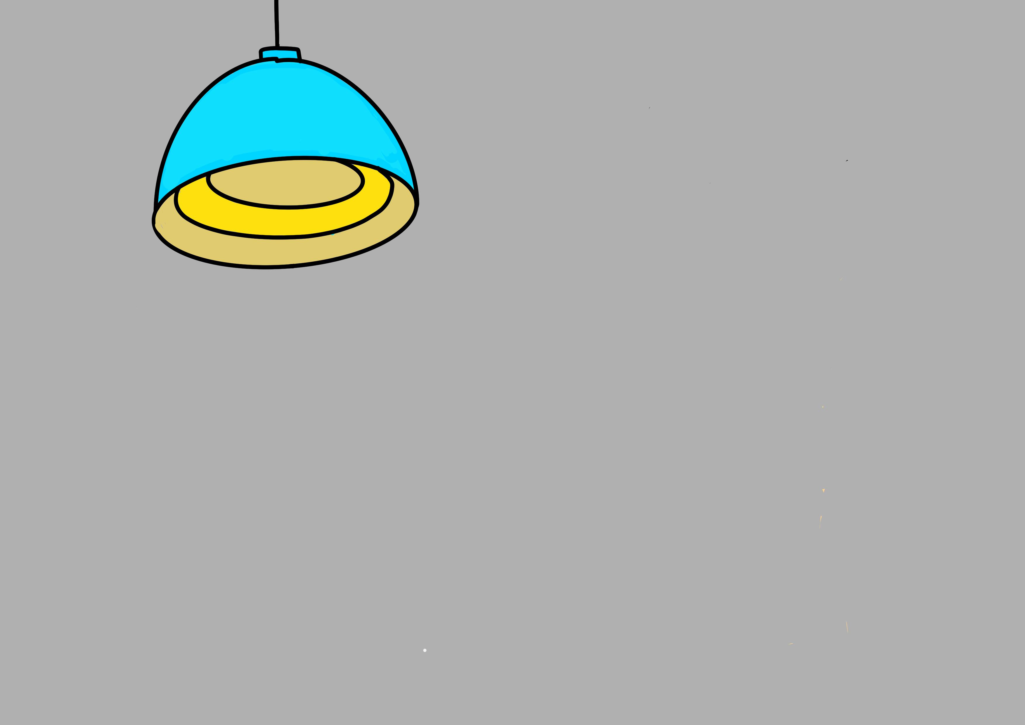 29課イラスト【電気が消える】
