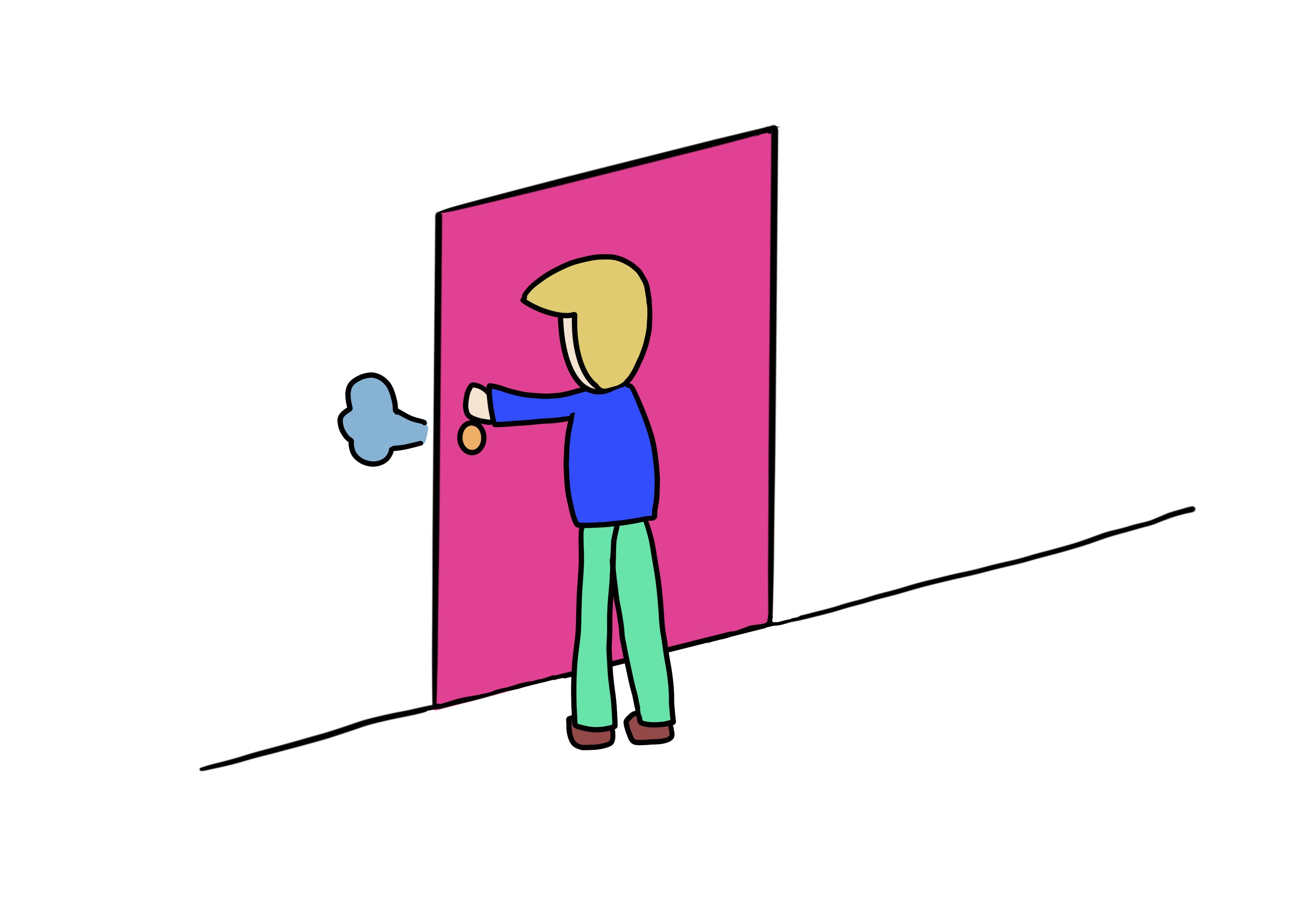 29課イラスト【閉める】