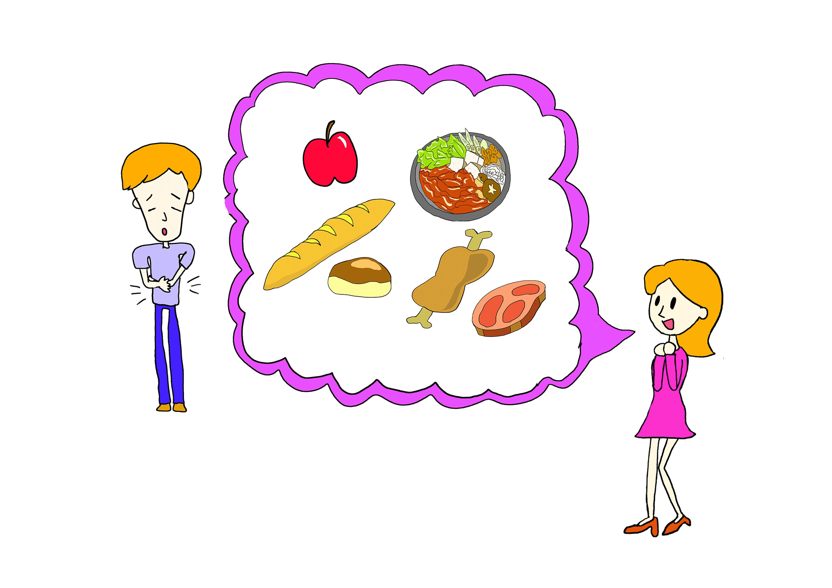 みんなの日本語31課【お腹すいた】