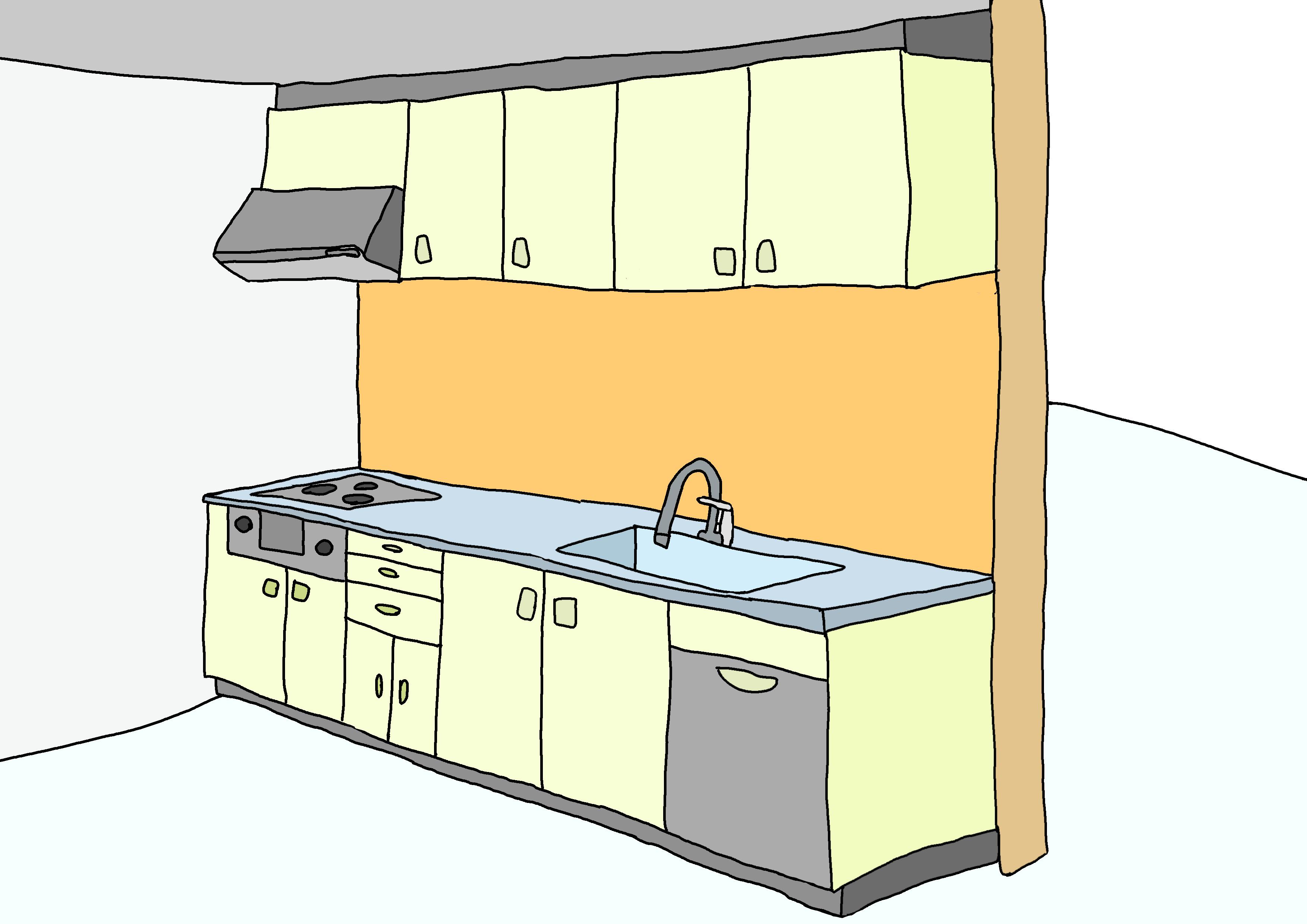 27課イラスト【キッチン】