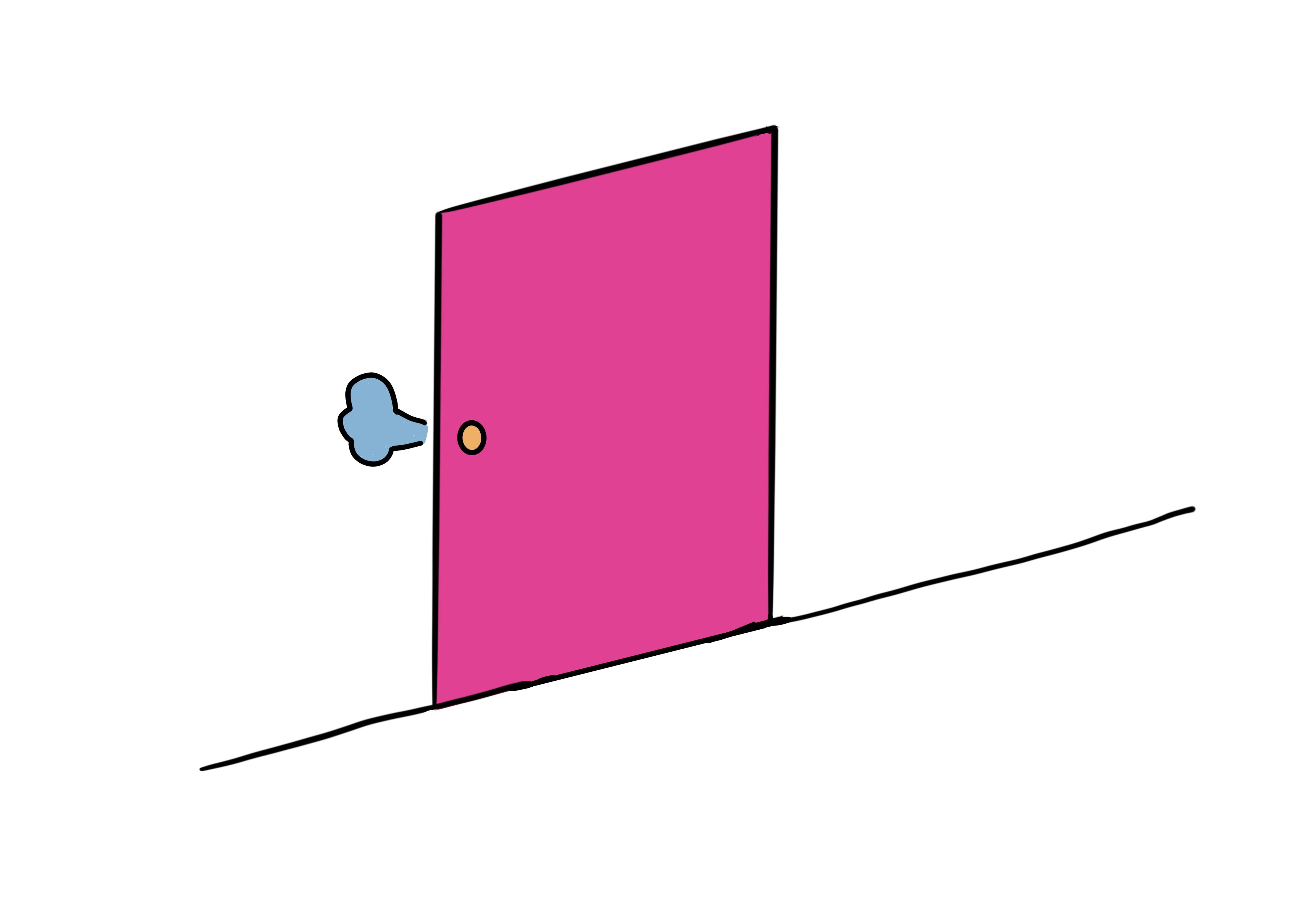29課イラスト【閉まる】