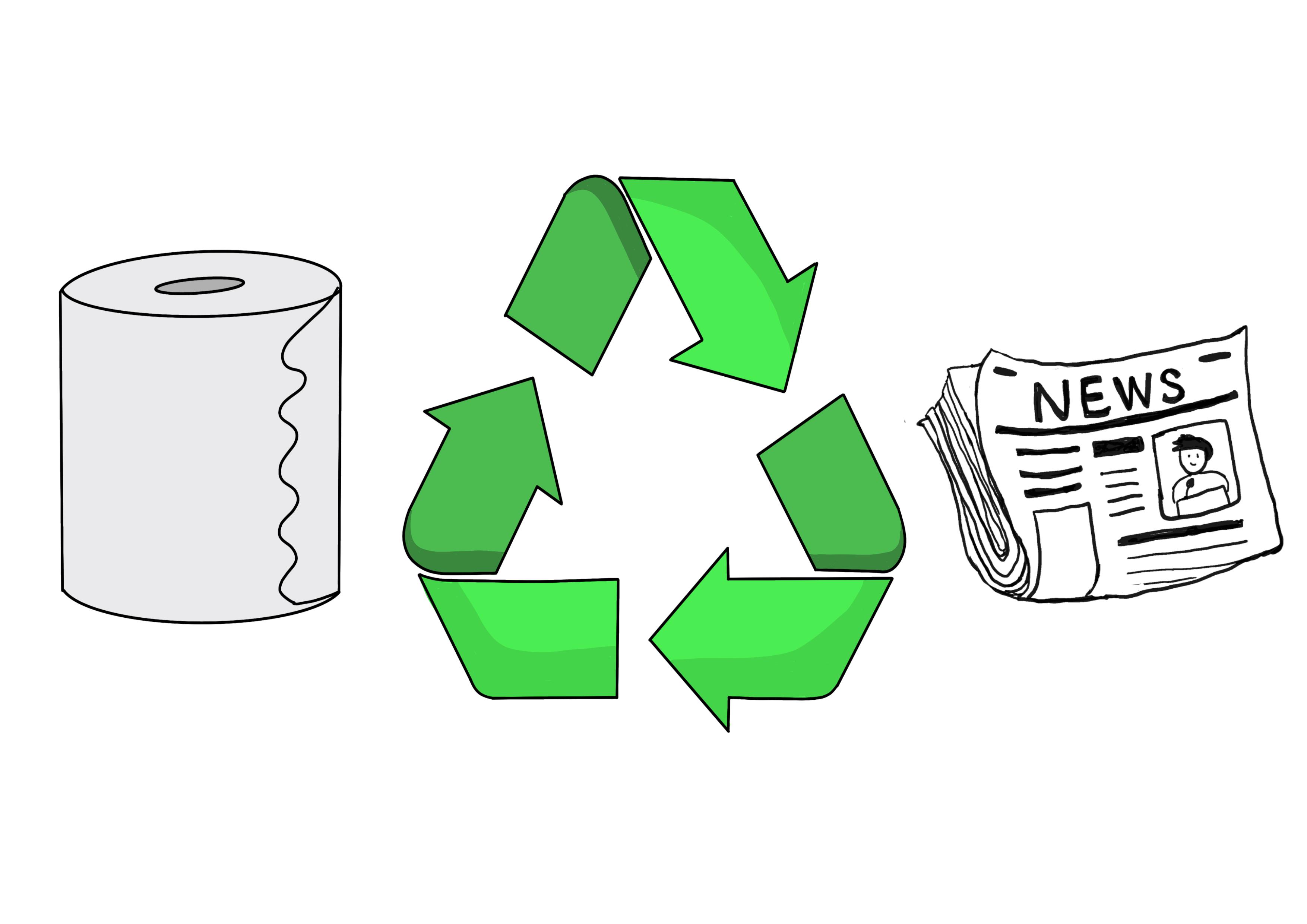 33課イラスト【リサイクルする】