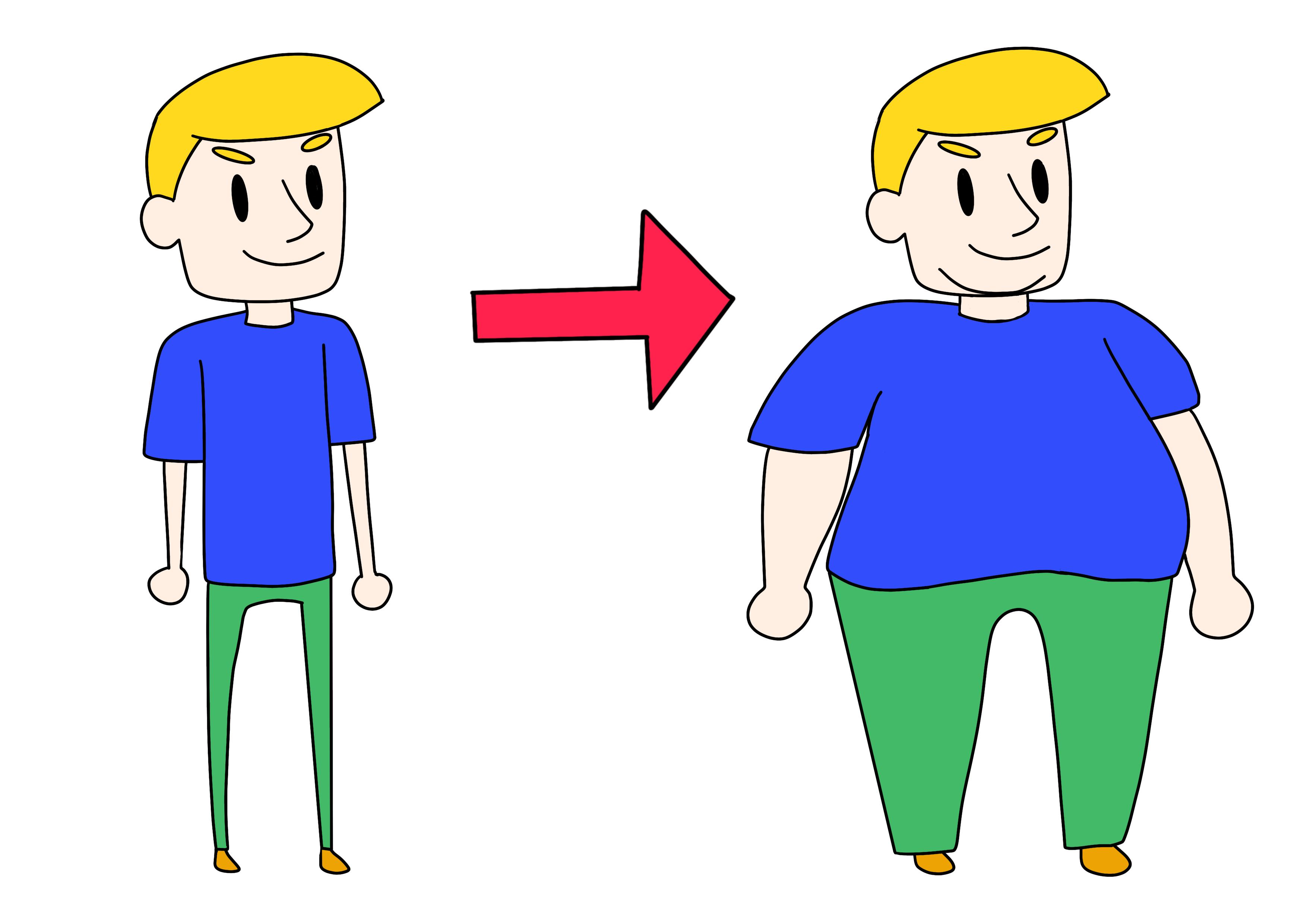 39課イラスト【太る】