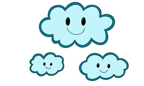 32課イラスト【雲/曇り】